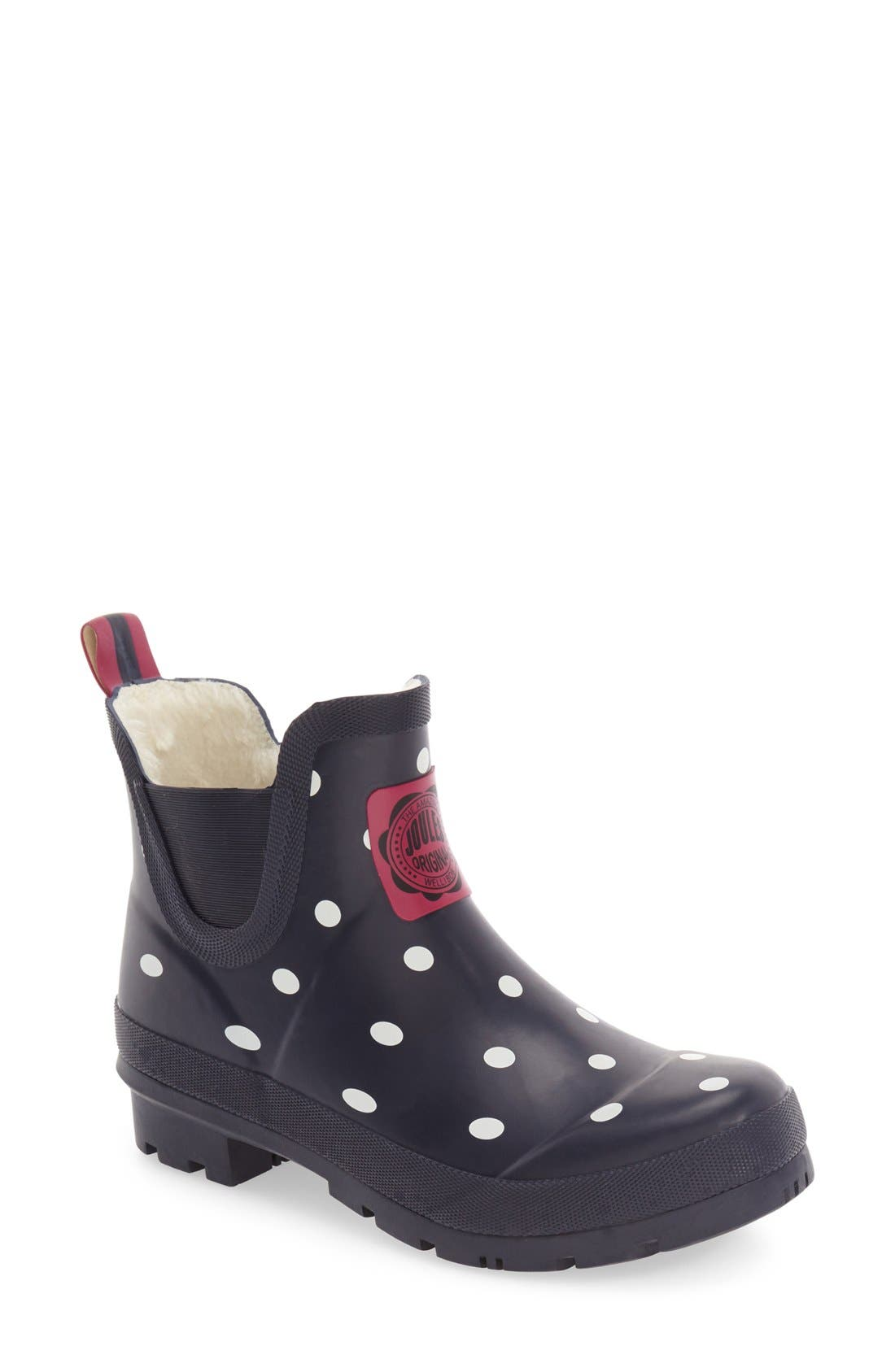 Joules 'Wellibob' Short Rain Boot (Women)