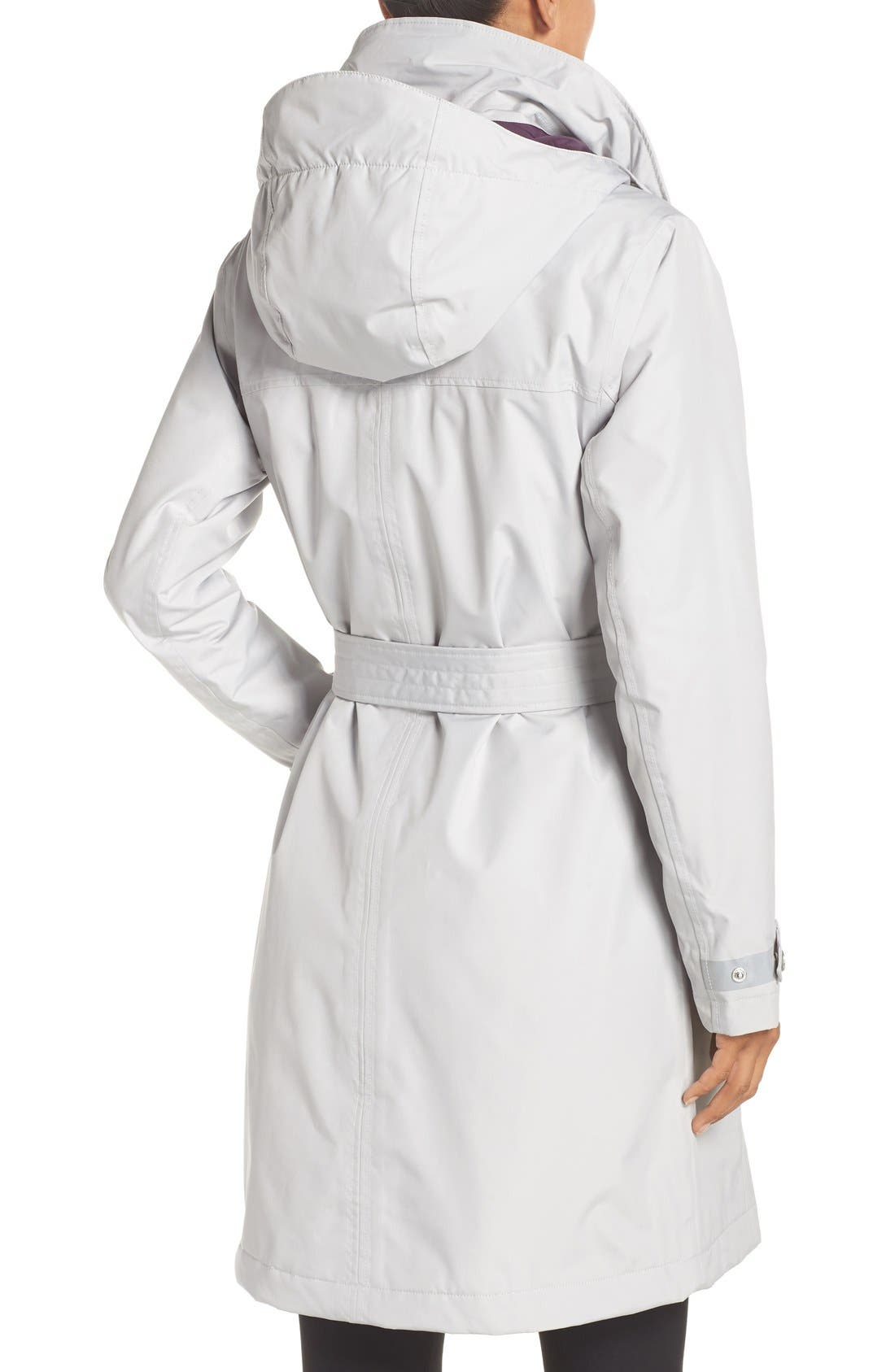 Alternate Image 2  - Helly Hansen 'Welsey' Insulated Waterproof Trench Coat