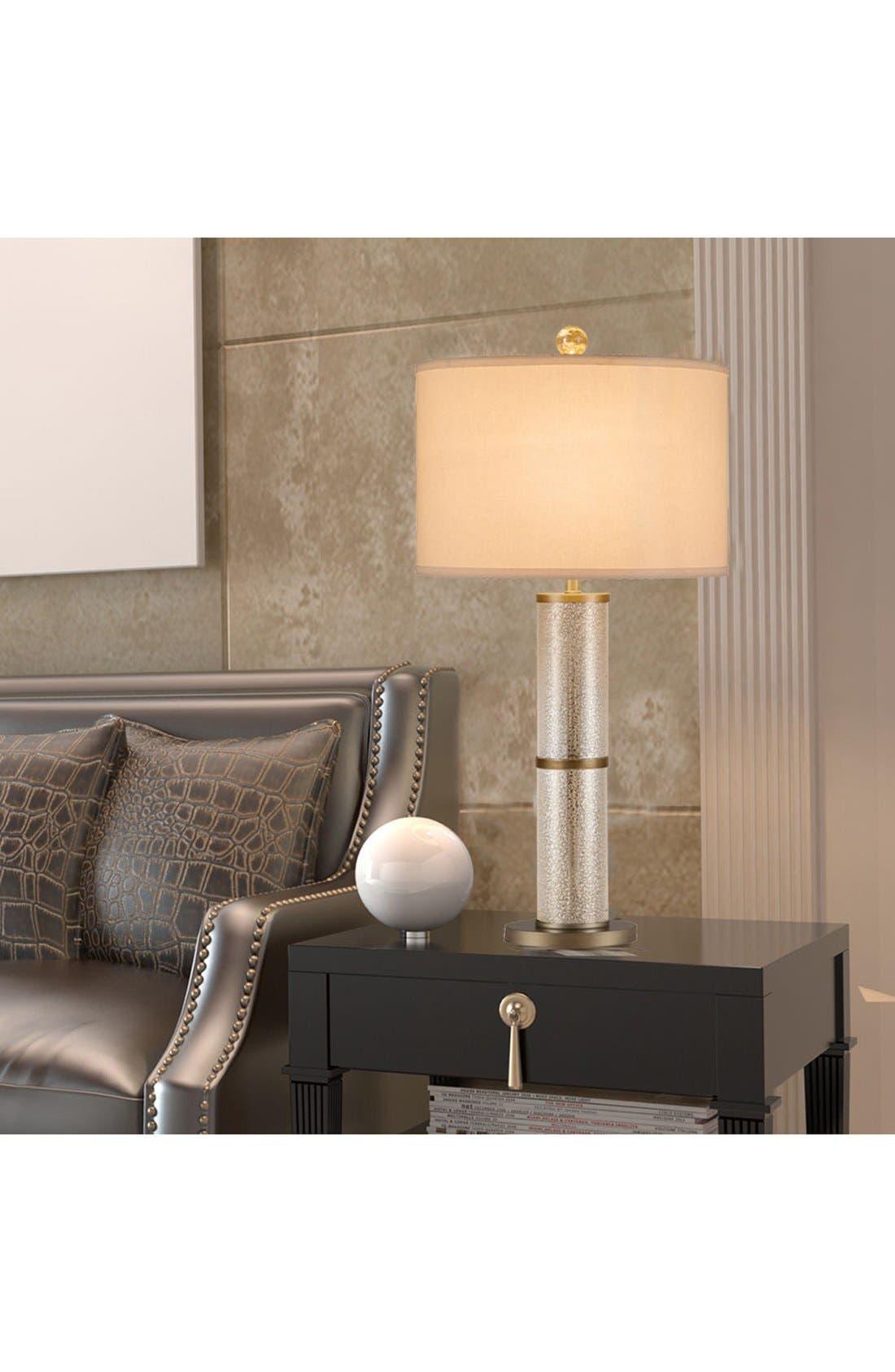 Alternate Image 2  - JAlexander Glass Cylinder Table Lamp