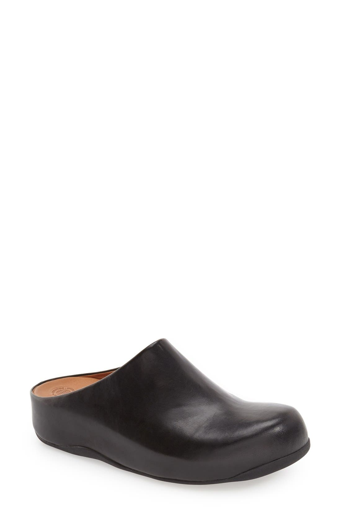 Alternate Image 1 Selected - FitFlop 'Shuv™' Leather Clog
