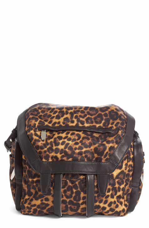 3bb5eed3426994 Alexander Wang Marti Leopard Print Nylon Backpack