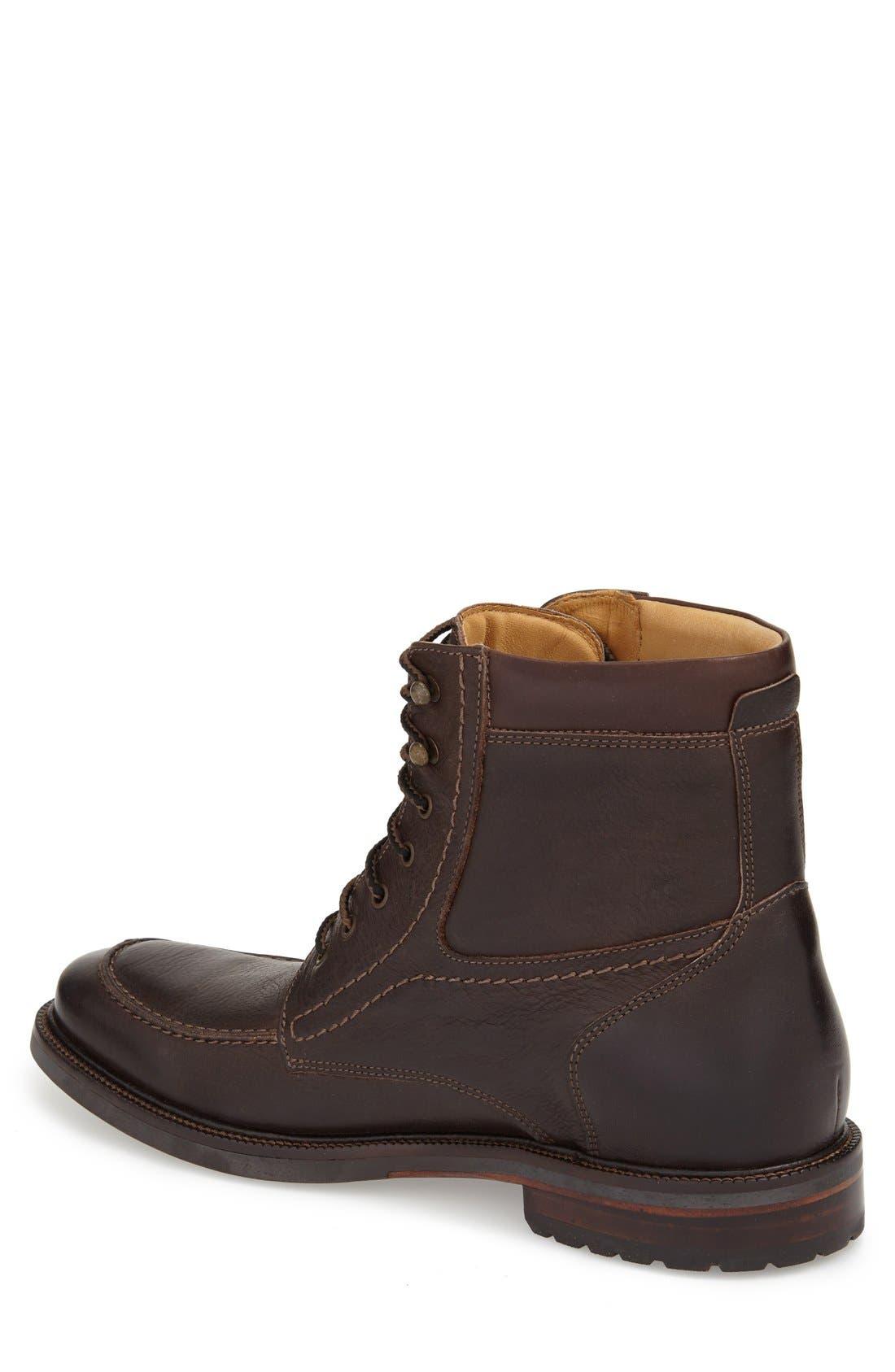 'Baird' Moc Toe Boot,                             Alternate thumbnail 2, color,                             Brown