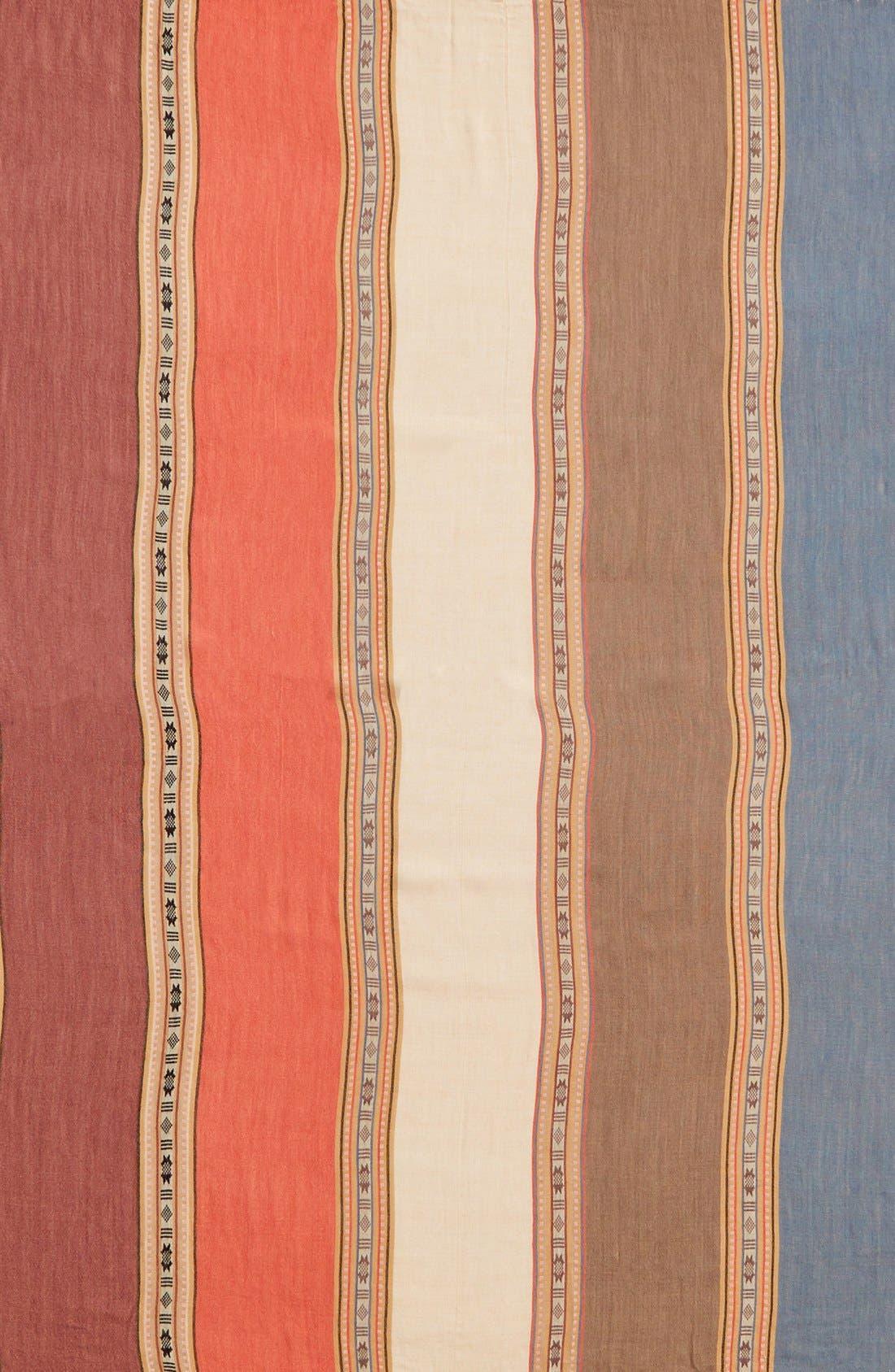 Alternate Image 3  - BP. Stripe Fringe Square Scarf