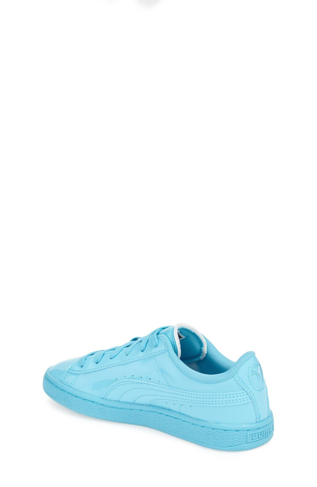'Basket Classic' Sneaker,                             Alternate thumbnail 2, color,                             Blue Atoll-Blue Atoll