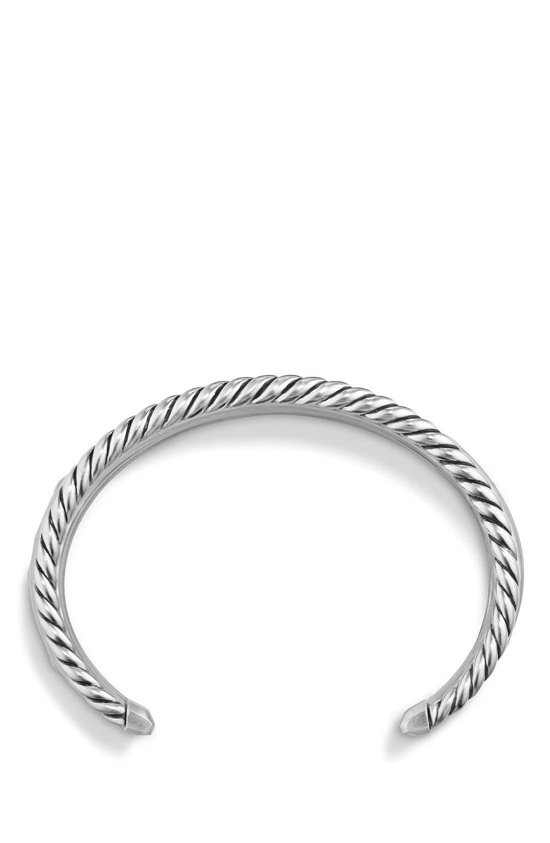 Alternate Image 2  - David Yurman 'Stax' Wide Cuff Bracelet with Diamonds