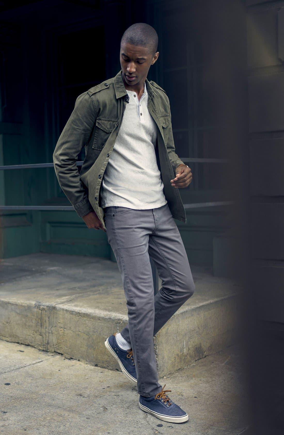 Alternate Image 6  - AG 'Matchbox BES' Slim Fit Pants