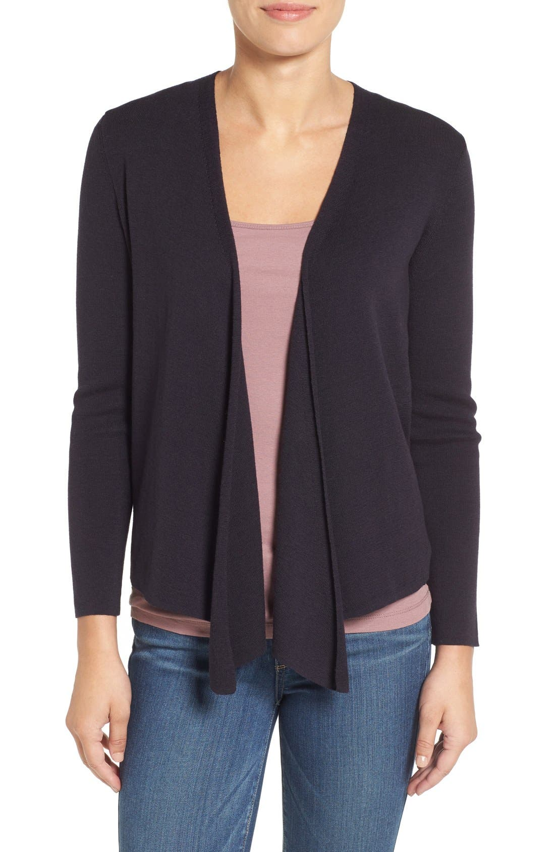 Four-Way Convertible Cardigan,                         Main,                         color, Midnight