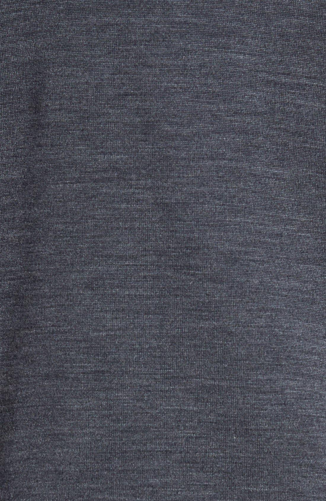 Alternate Image 5  - John Smedley 'Bobby' Easy Fit V Neck Wool Sweater
