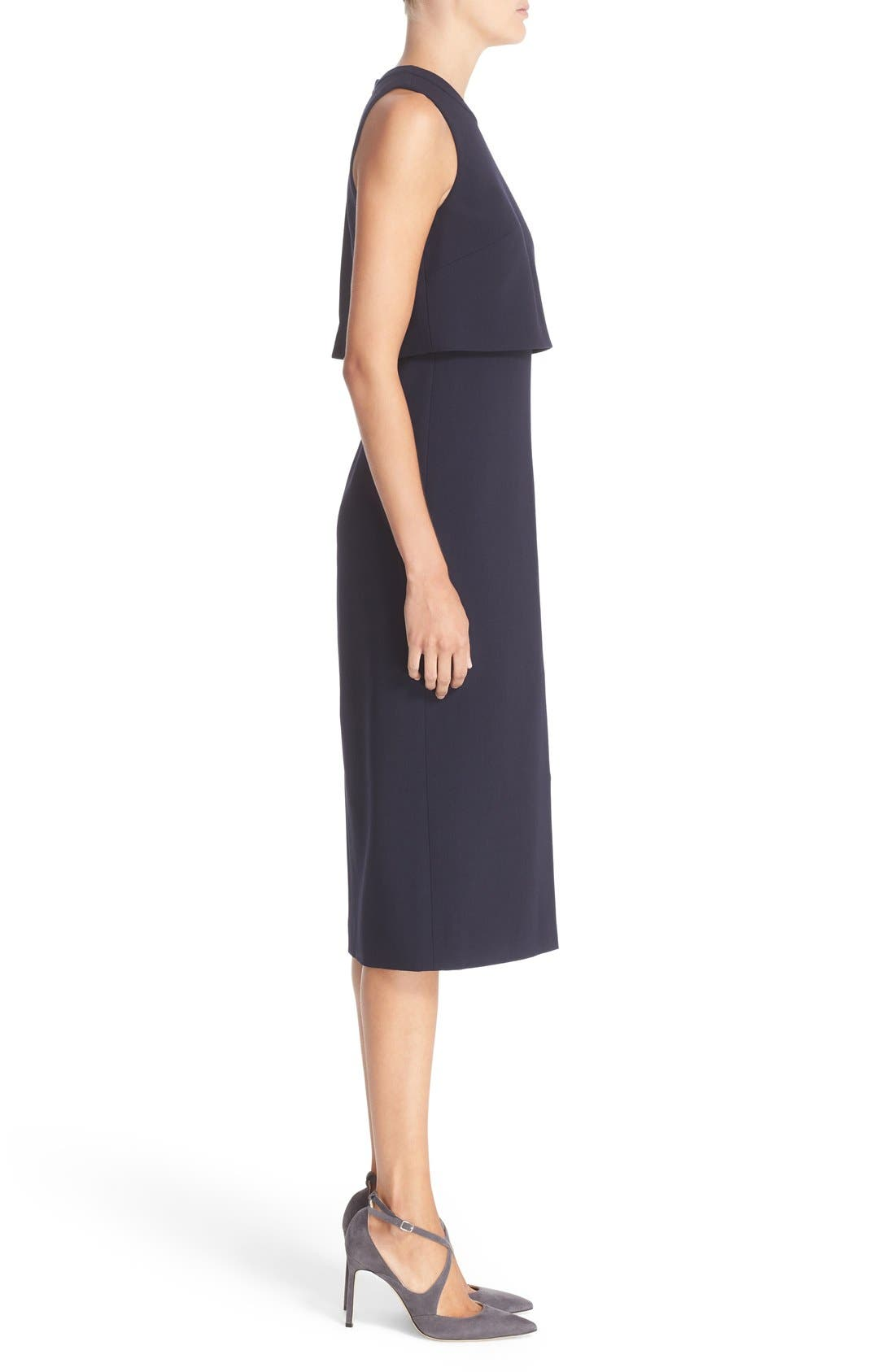 Alternate Image 5  - Nordstrom Signature and Caroline Issa Swing Back Crepe Dress