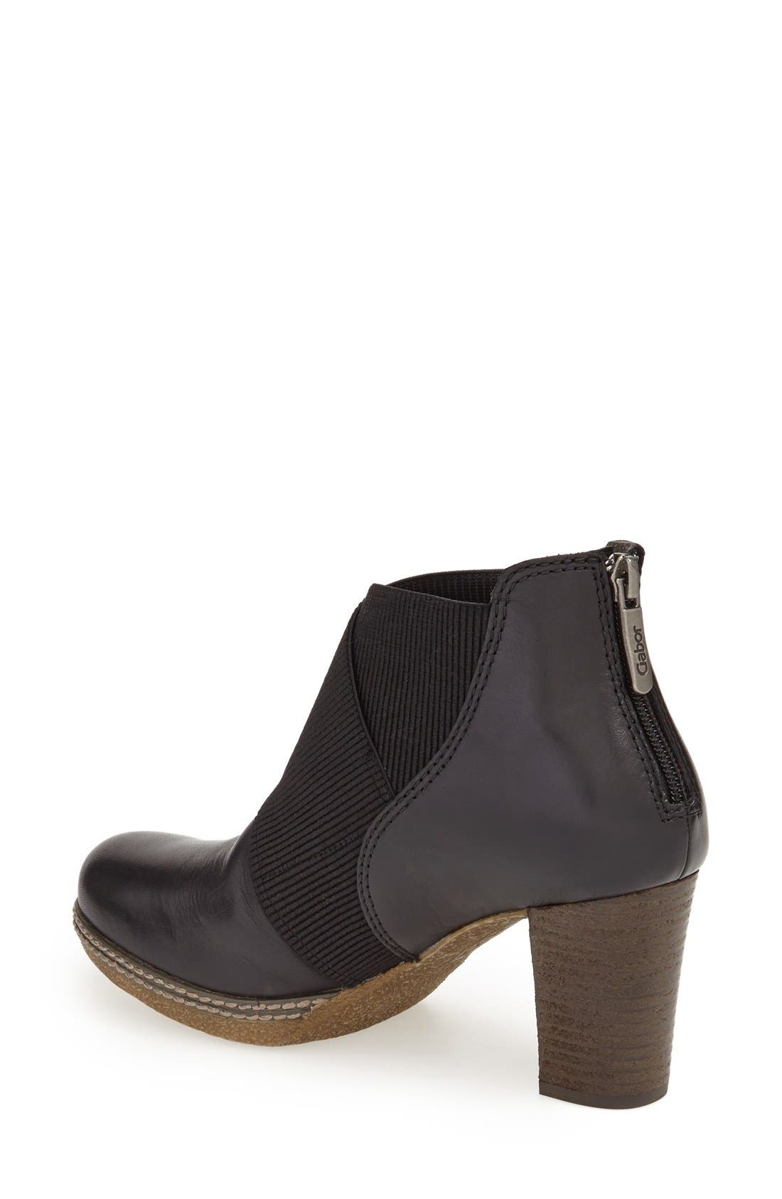 Alternate Image 2  - Gabor Block Heel Bootie (Women)