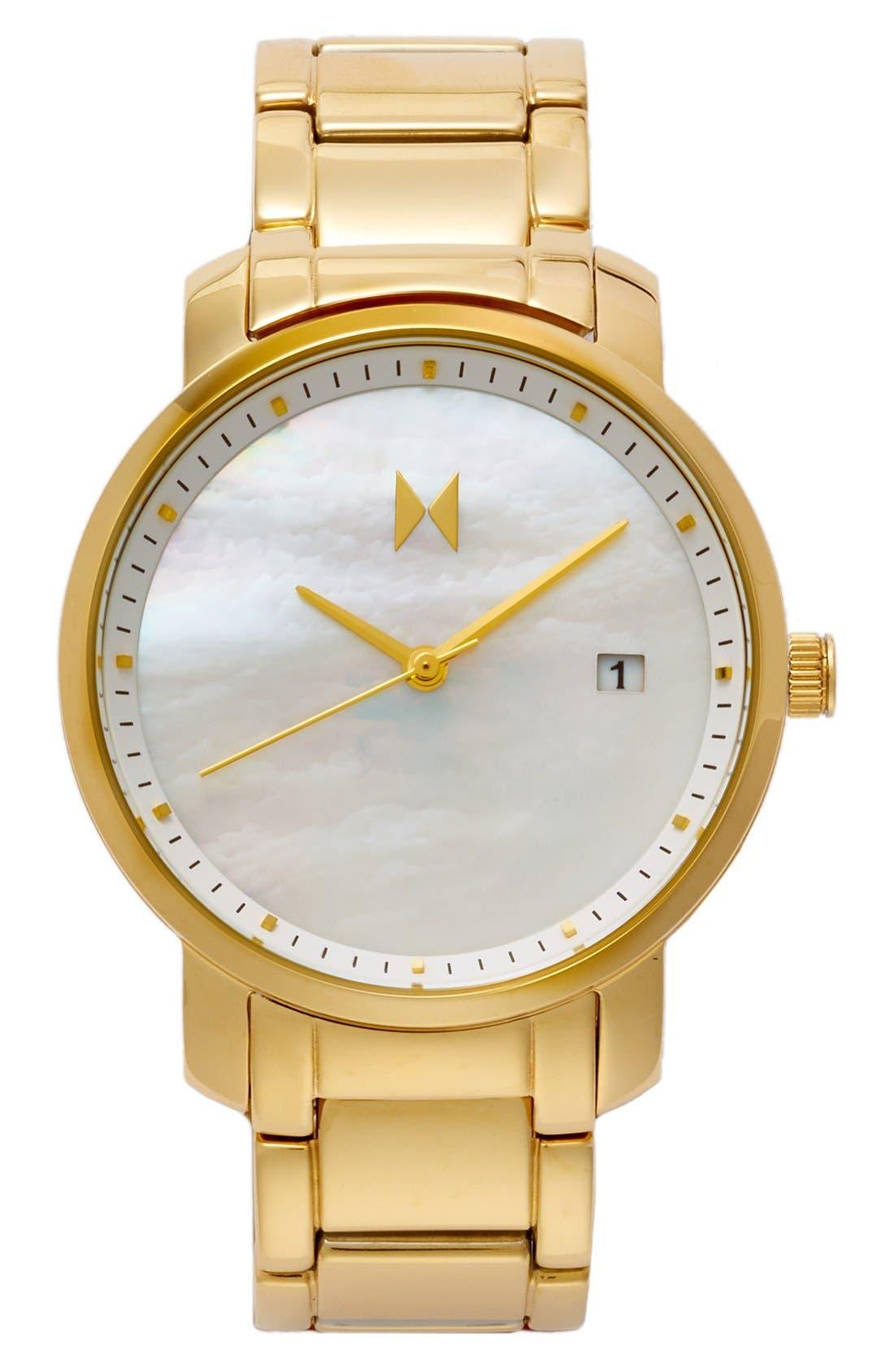 Bracelet Watch, 38mm,                         Main,                         color, Gold/ Pearl