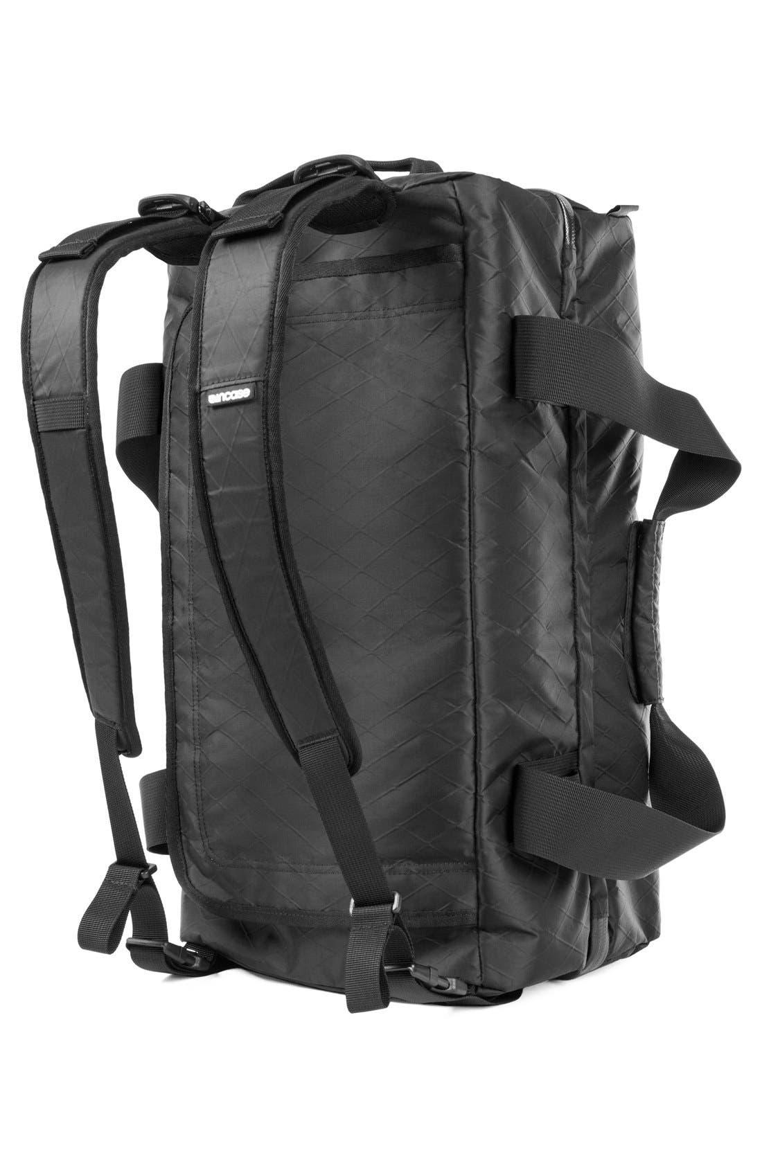 TRACTO Diamond Wire Split Travel Bag,                             Alternate thumbnail 2, color,                             Black