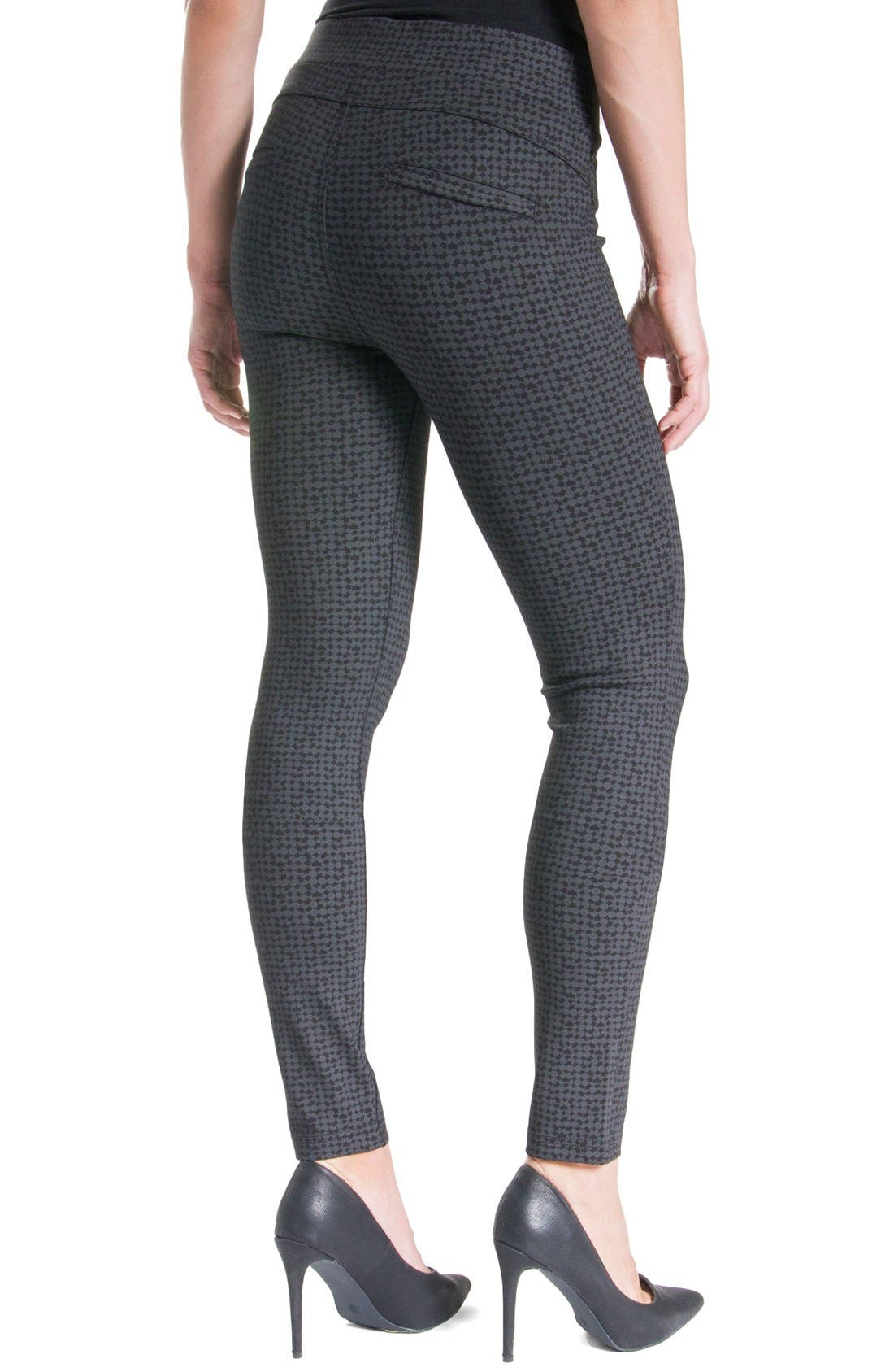 'Quinn' Leggings,                             Alternate thumbnail 3, color,                             Charcoal