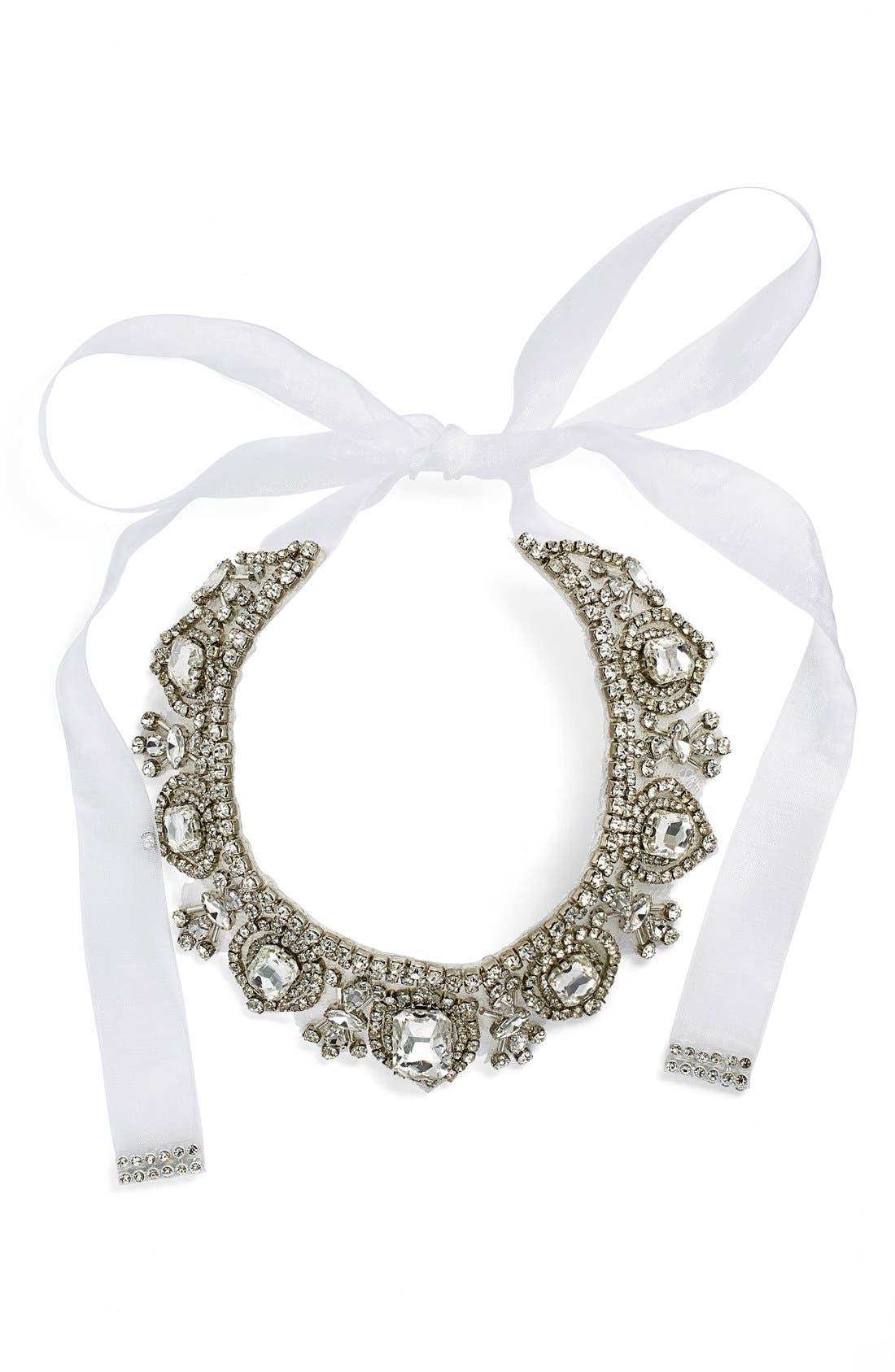 NINA Glamorous Tie Collar Necklace