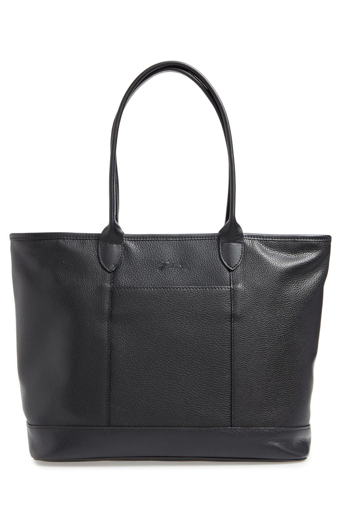 Alternate Image 3  - Longchamp 'Veau' Leather Tote