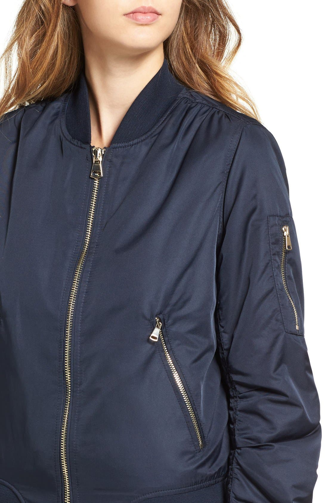 Alternate Image 4  - Topshop MA1 Bomber Jacket