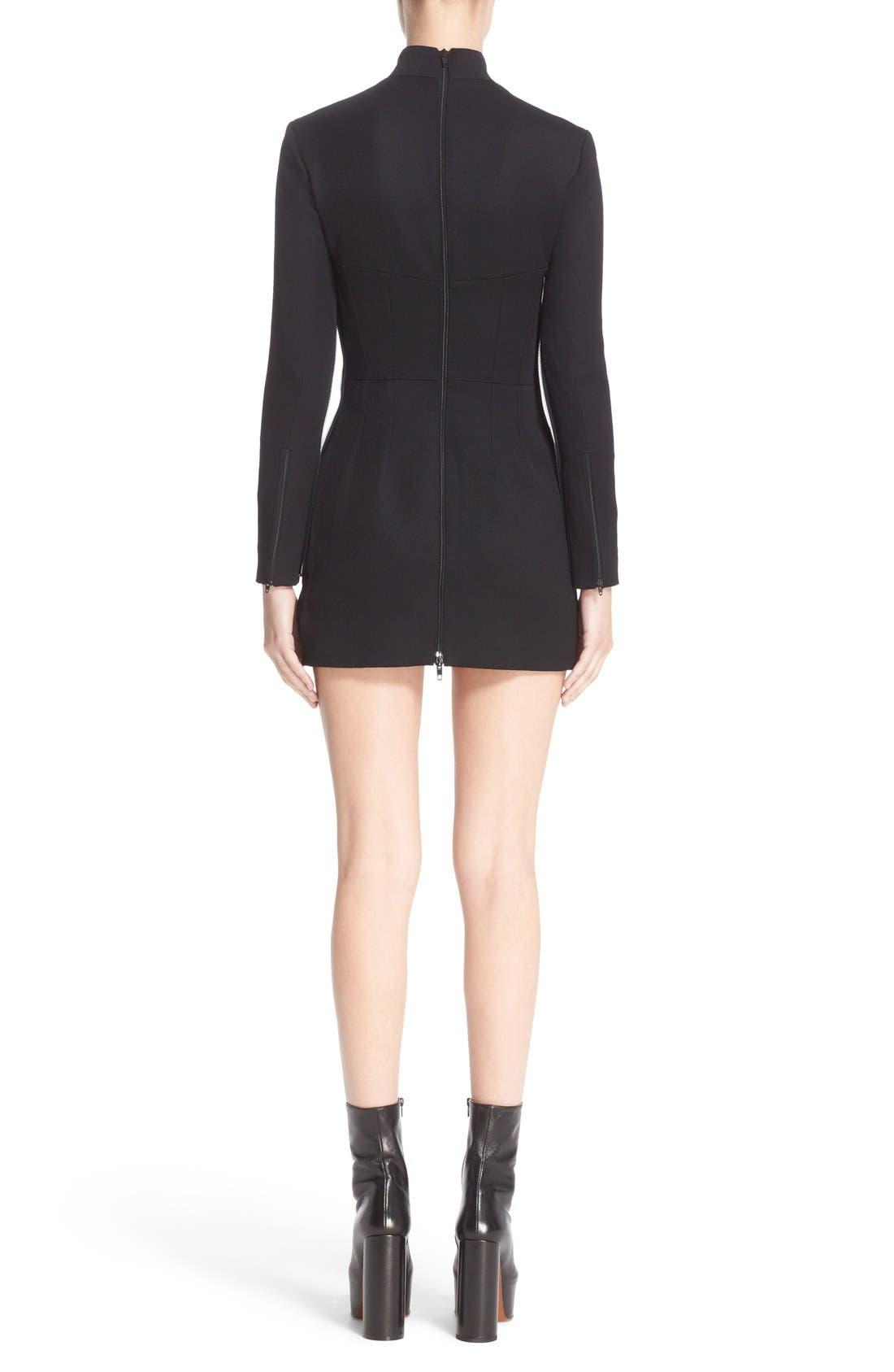 Alternate Image 2  - Vetements 'Sado' Wool Minidress