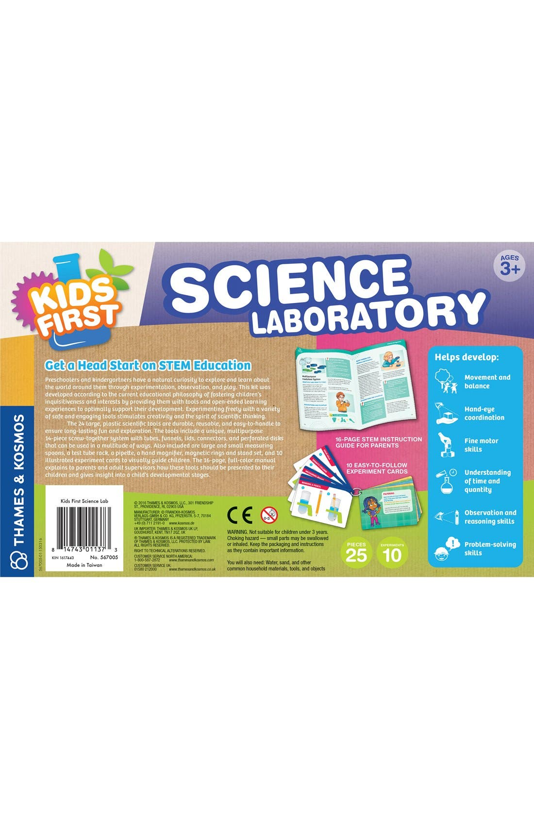 Alternate Image 2  - Thames & Kosmos 'Kids First Science Labratory' Experiment Kit