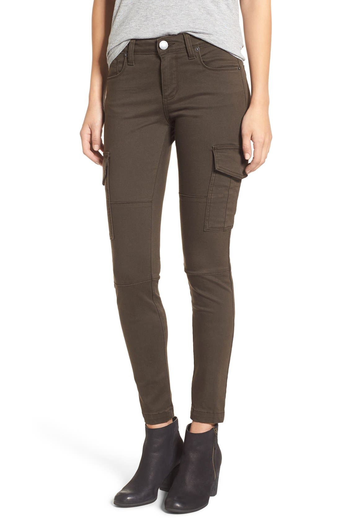 Alternate Image 1 Selected - STS Blue Cargo Pocket Skinny Pants