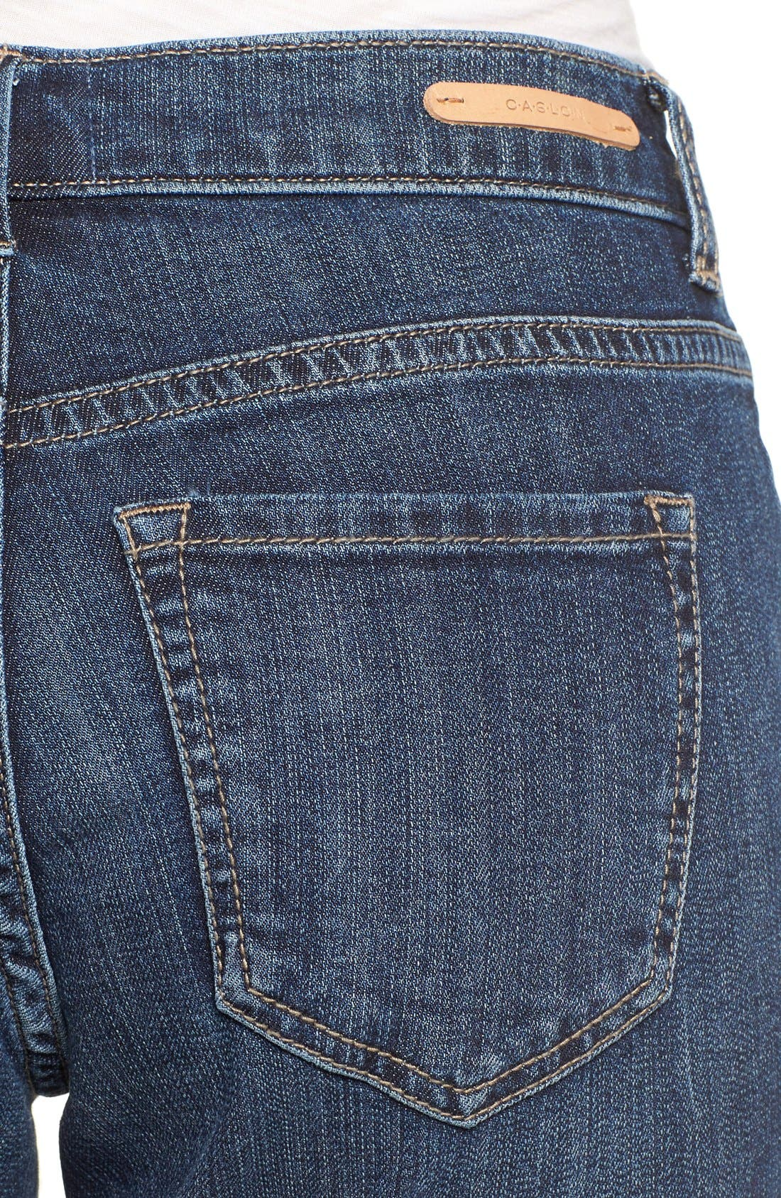 Boyfriend Jeans,                             Alternate thumbnail 4, color,                             Mirage Wash