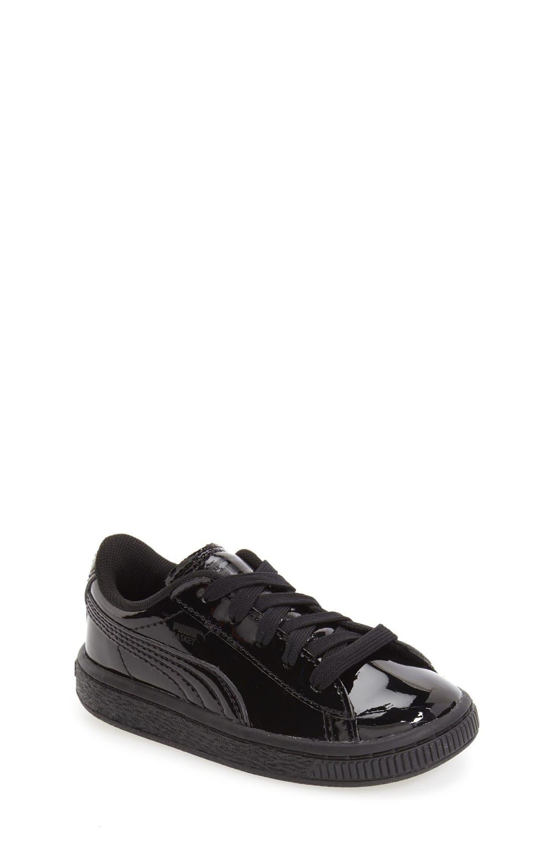 Alternate Image 1 Selected - PUMA 'Basket Classic' Shoe (Baby, Walker & Toddler)