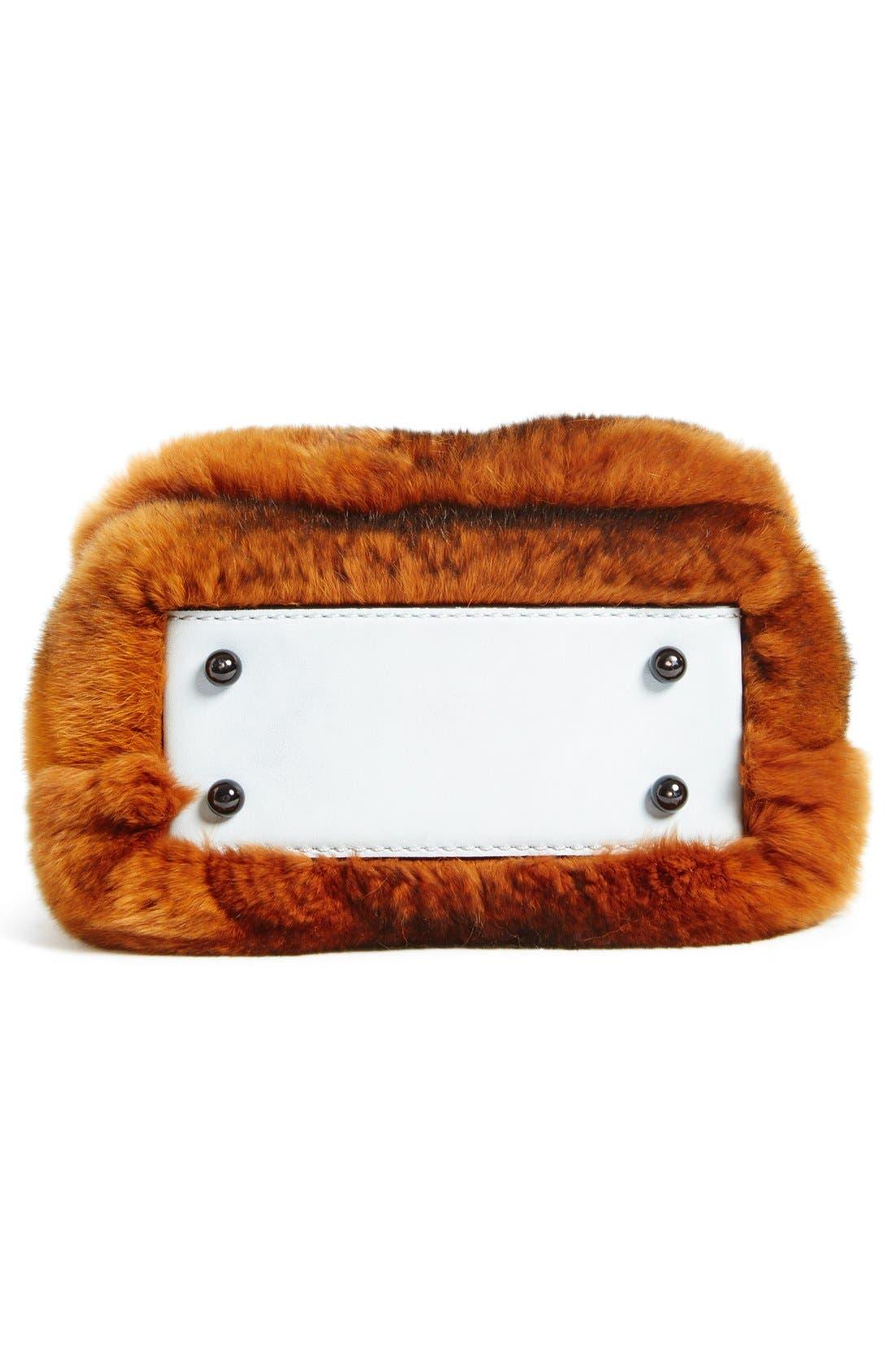 Alternate Image 5  - Alexander Wang Mini Genuine Rabbit Fur Handbag