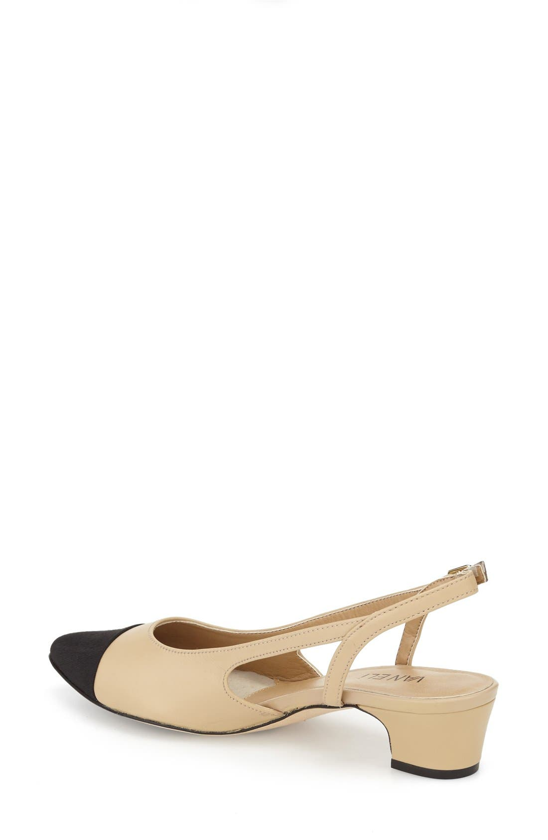 Alternate Image 2  - VANELi 'Aliz' Slingback Pump (Women)