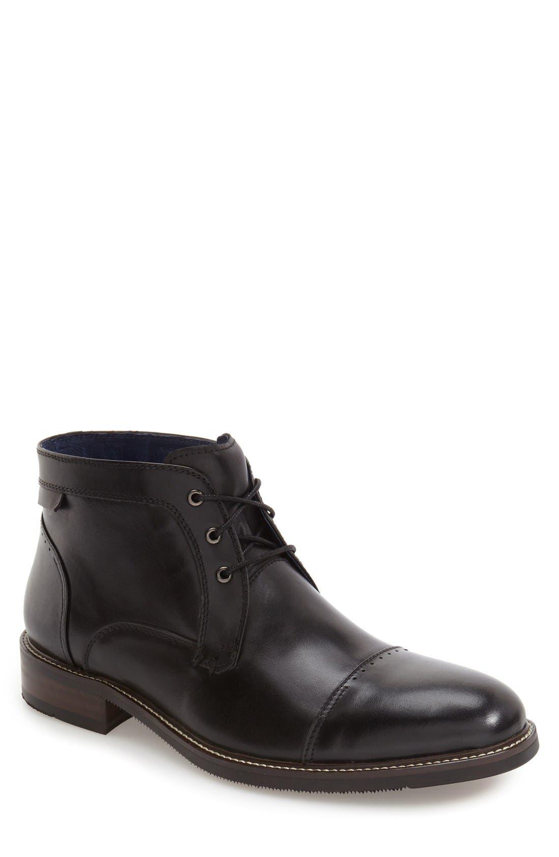 'Rubano' Chukka Boot,                         Main,                         color, Black
