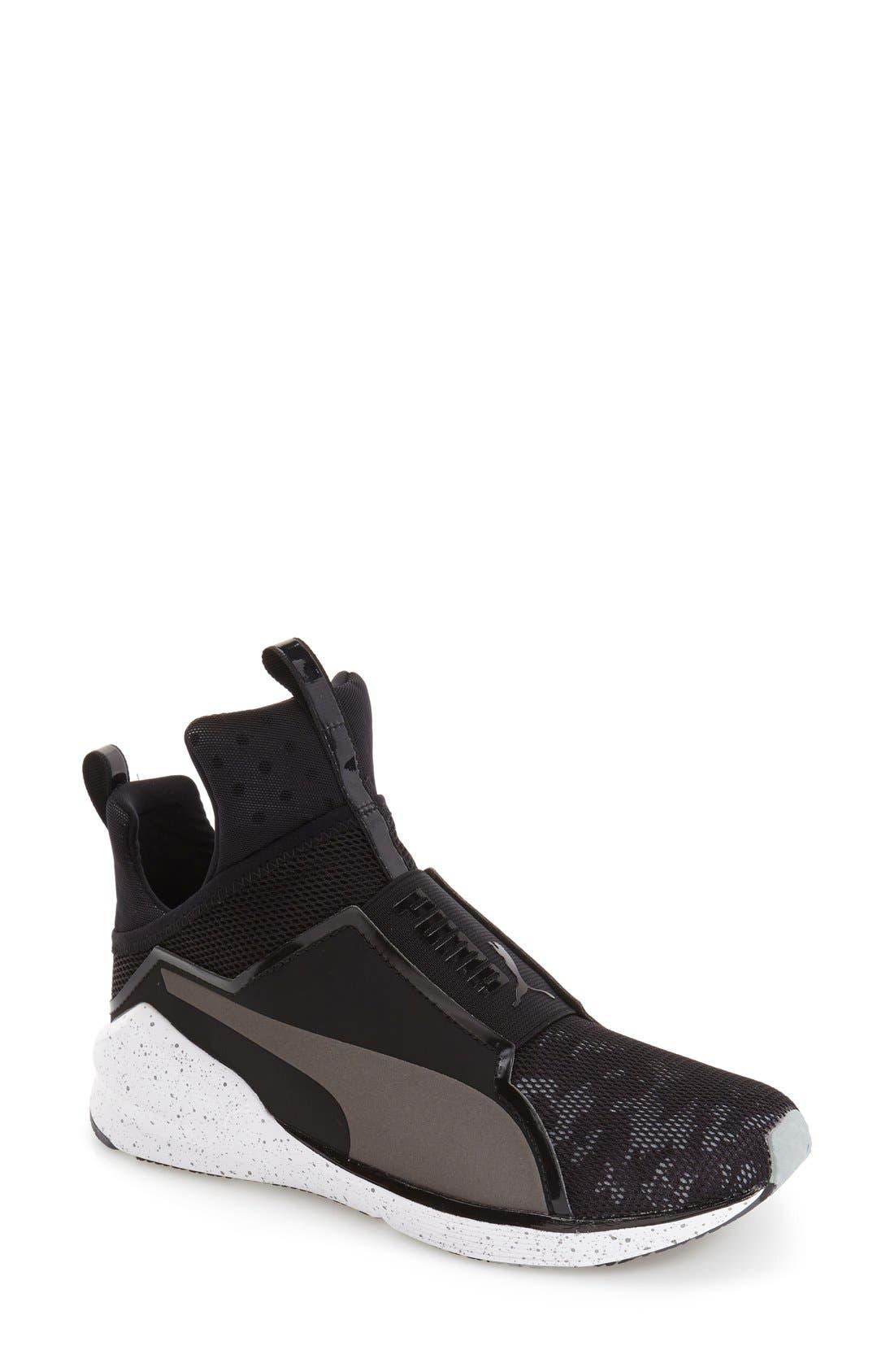 Alternate Image 1 Selected - PUMA 'Fierce Camo' Training Sneaker (Women)