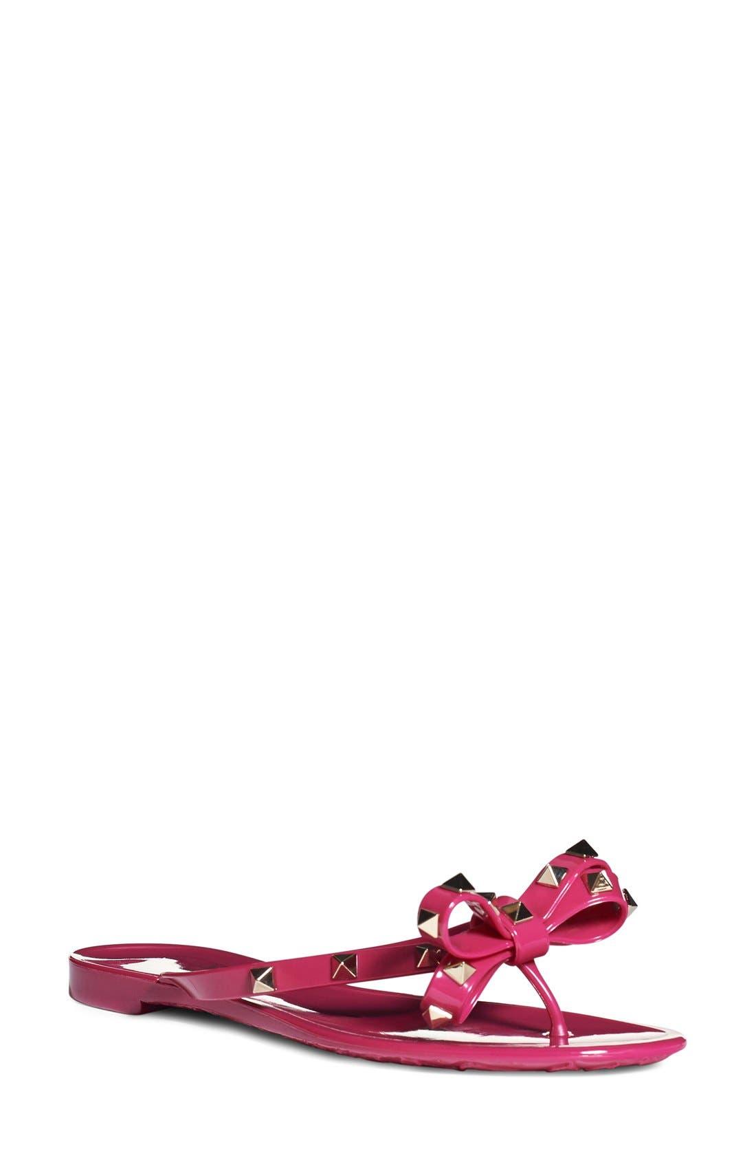 VALENTINO GARAVANI 'Rockstud' Flip Flop (Women)