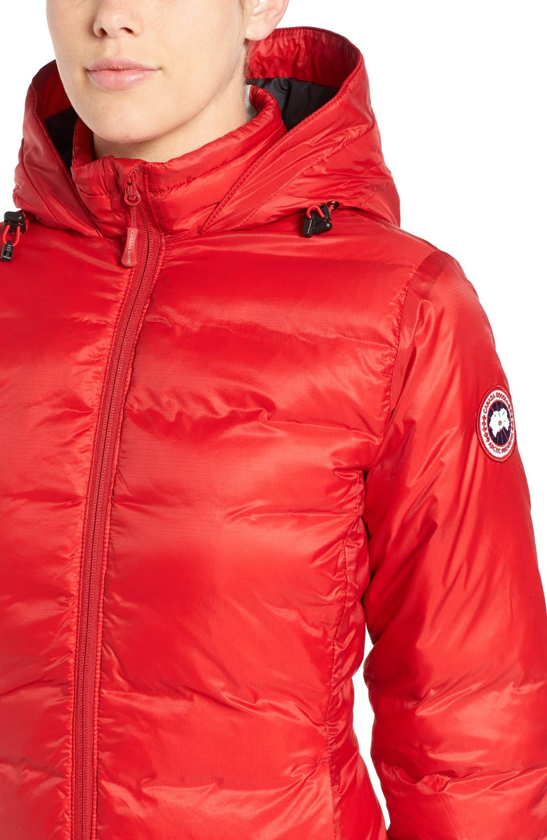 Alternate Image 6  - Canada Goose 'Camp' Slim Fit Hooded Packable Down Jacket