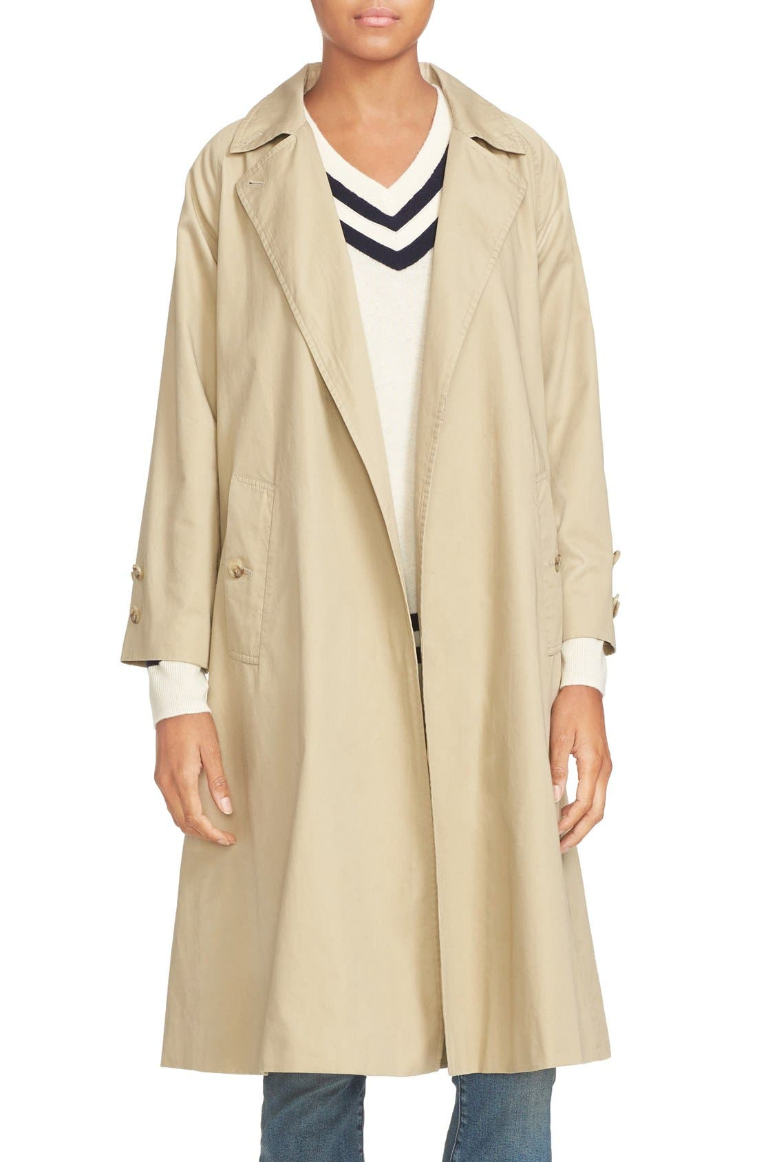 Alternate Image 1 Selected - FRAME Cotton Trench Coat