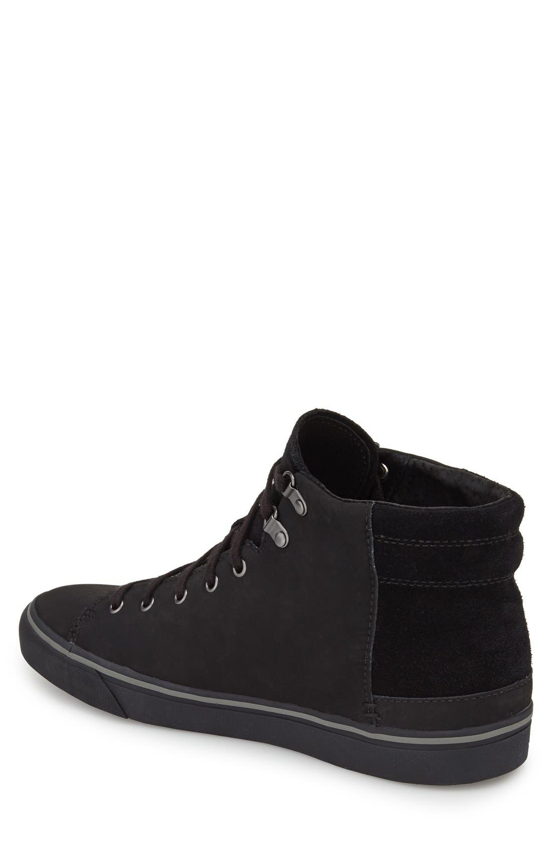Alternate Image 2  - UGG® 'Hoyt' Waterproof High Top Sneaker (Men)