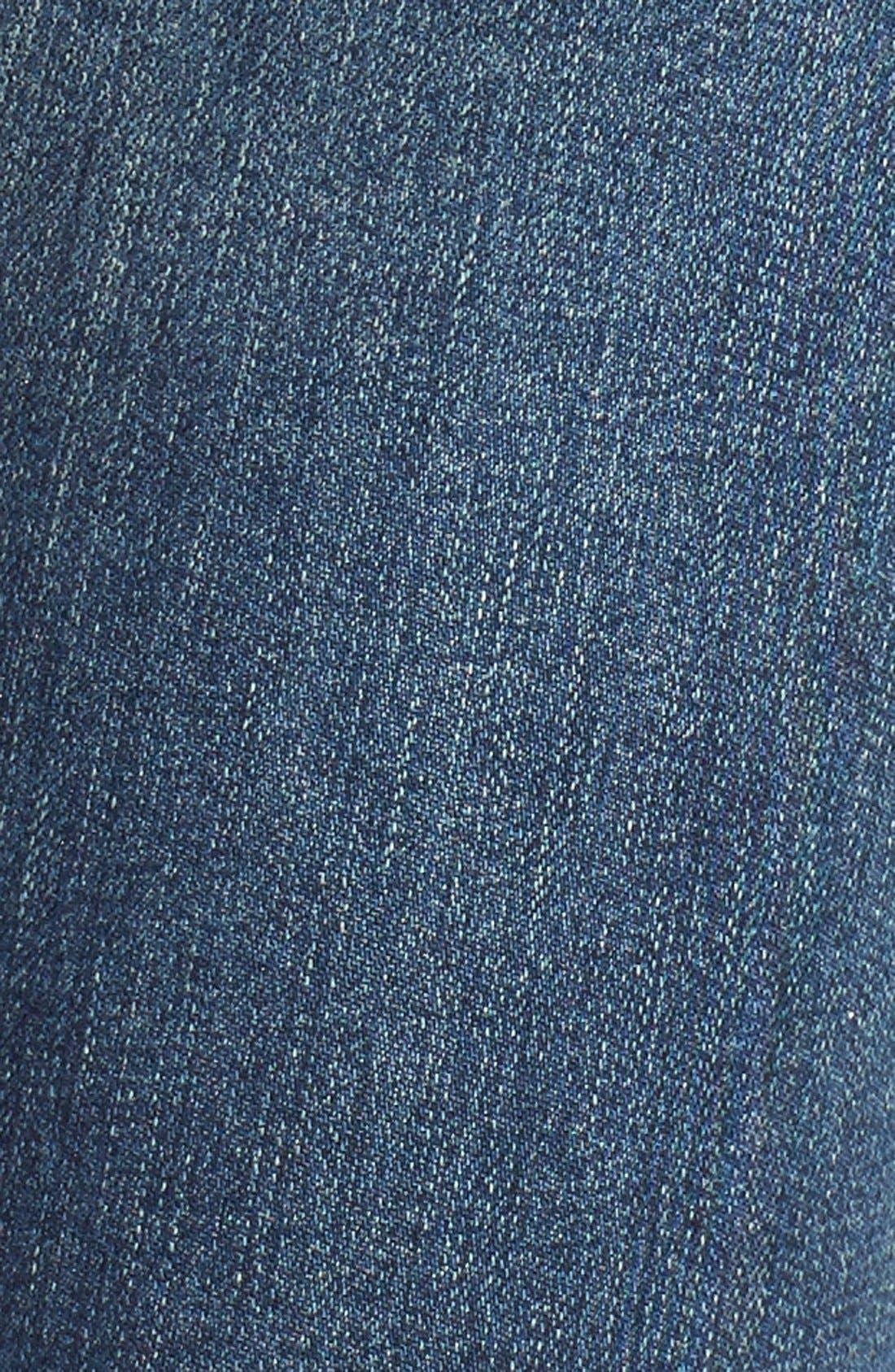 'Sophie' High Rise Skinny Jeans,                             Alternate thumbnail 5, color,                             Kansas City