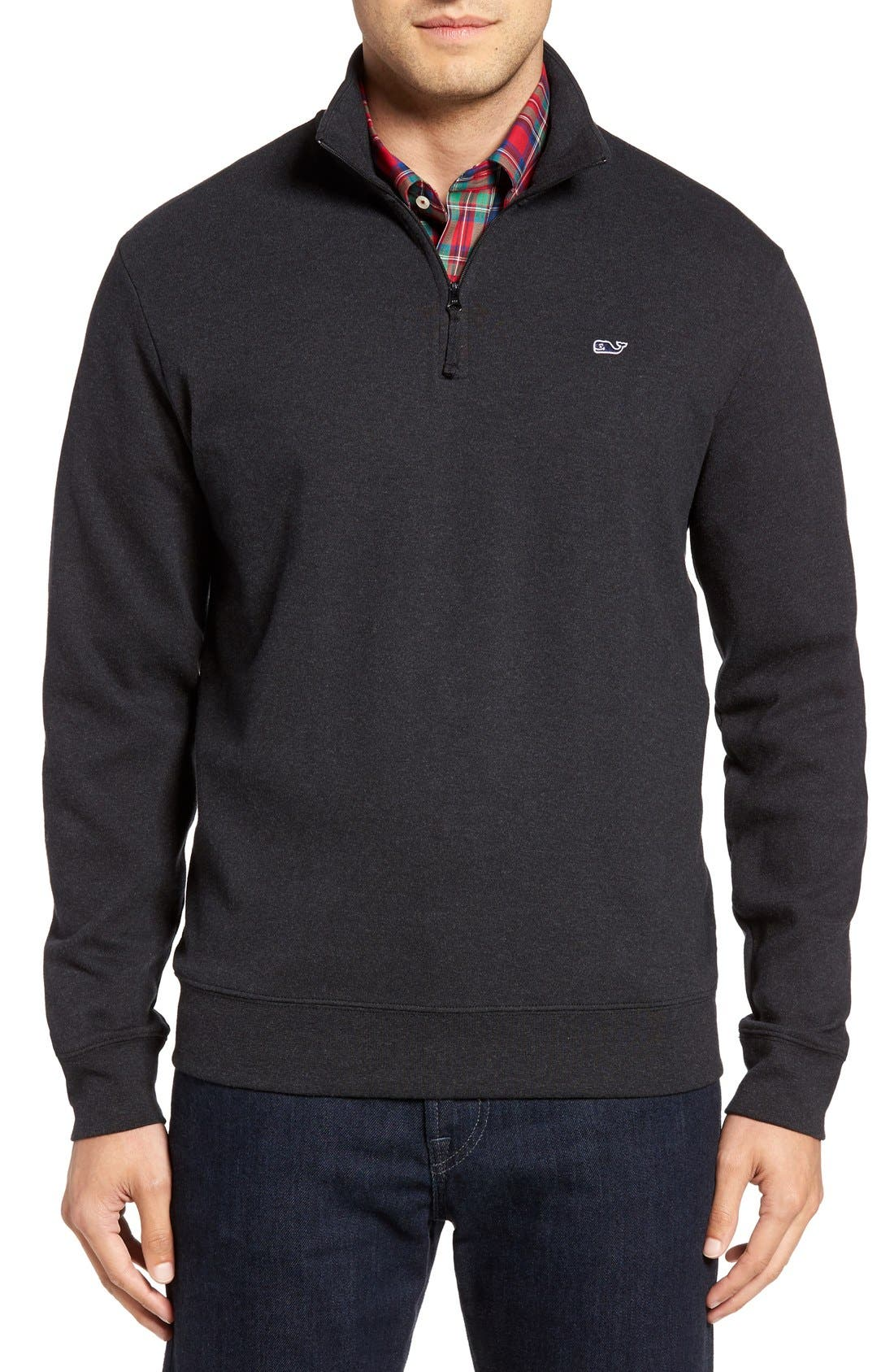 Alternate Image 1 Selected - Vineyard Vines Quarter Zip Sweater