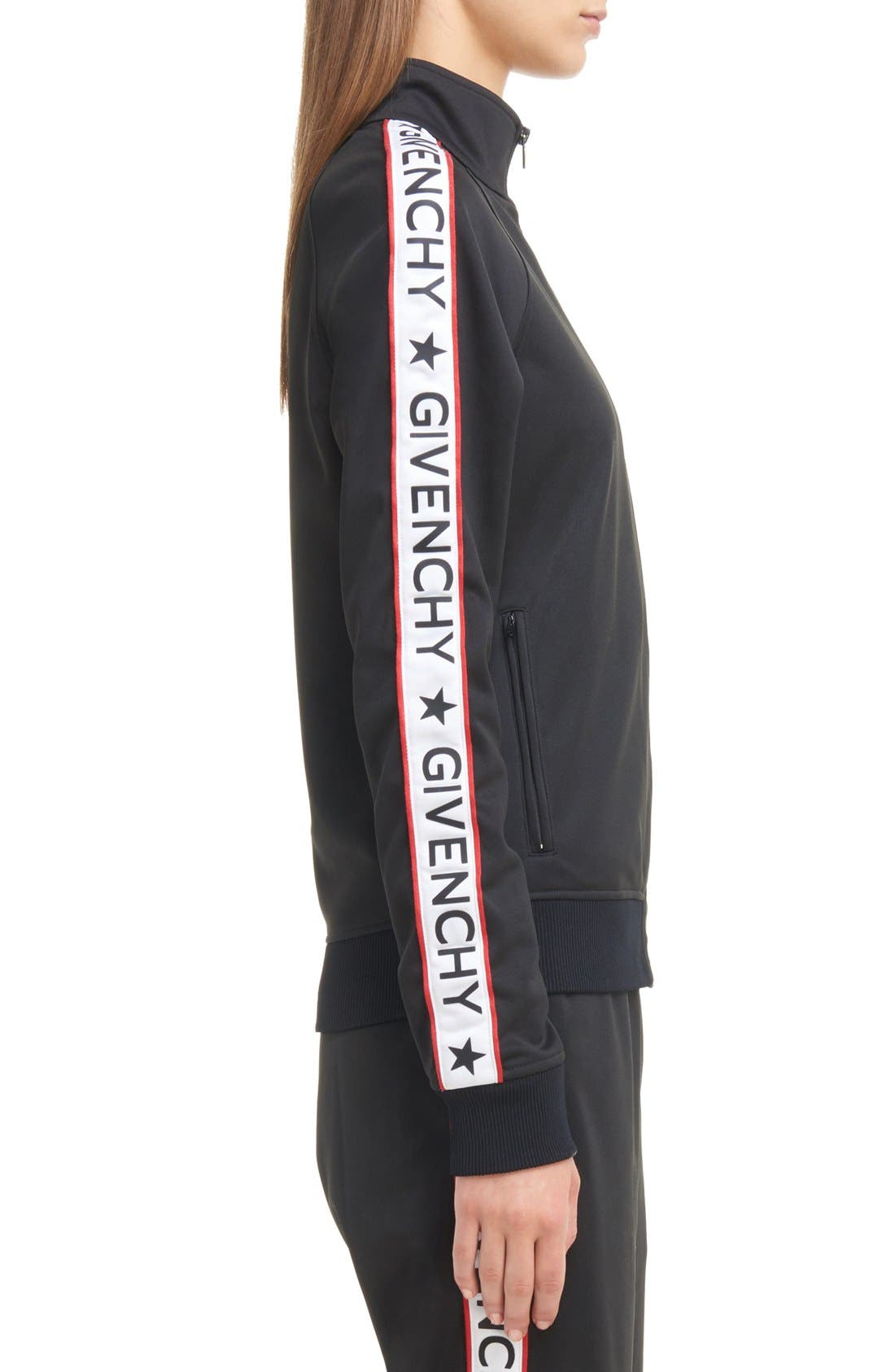 Alternate Image 4  - Givenchy Logo Track Jacket