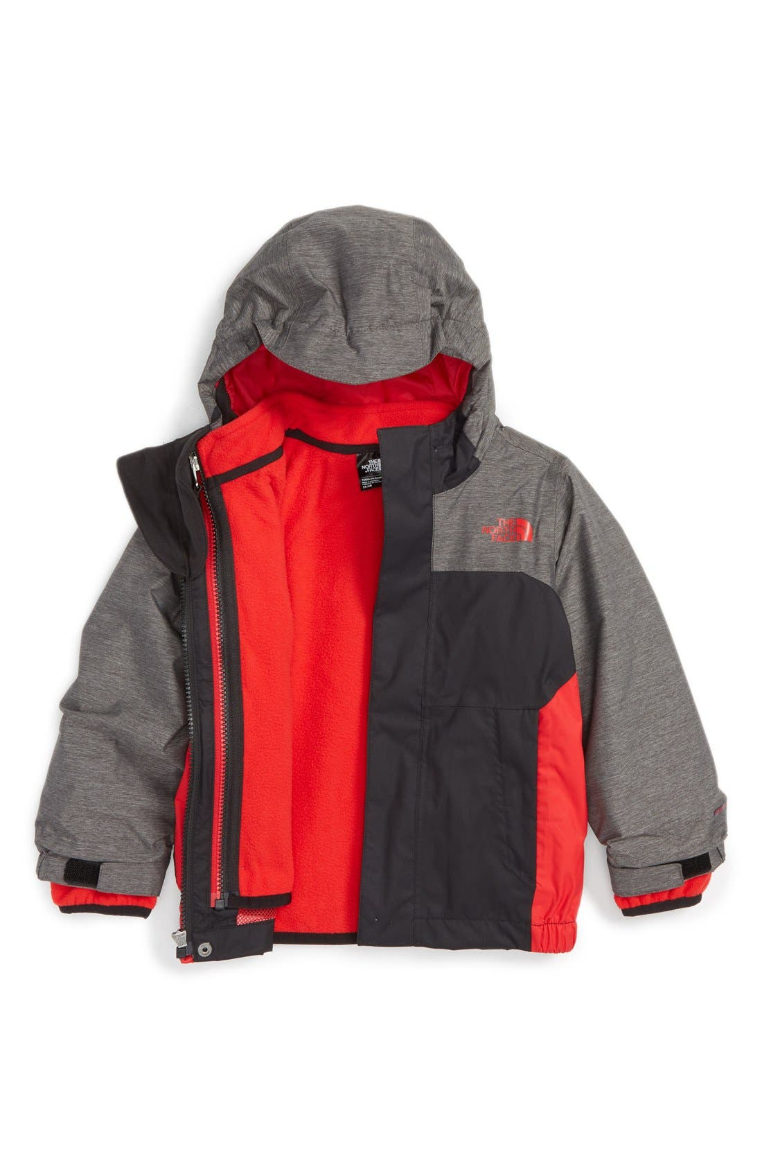Alternate Image 1 Selected - The North Face 'Vortex' TriClimate® Waterproof 3-in-1 Jacket (Toddler Boys & Little Boys)