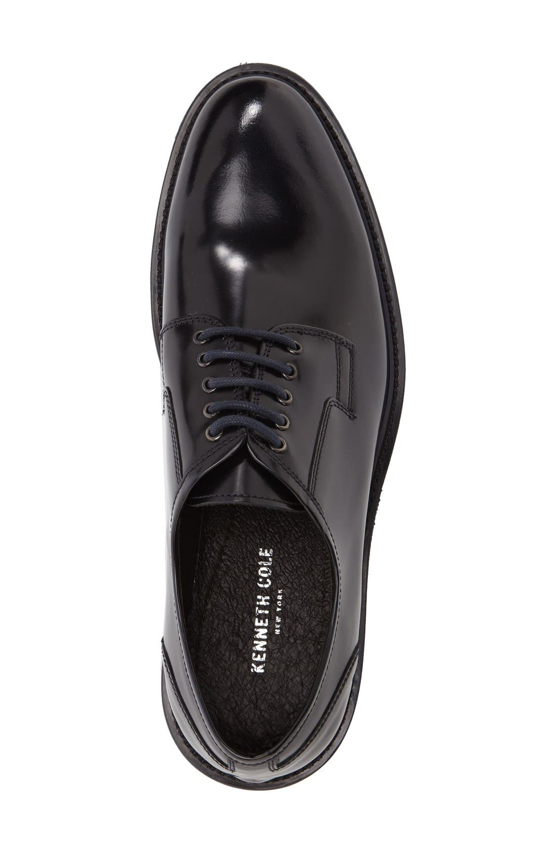 Alternate Image 3  - Kenneth Cole New York Hi Five Plain Toe Derby (Men)