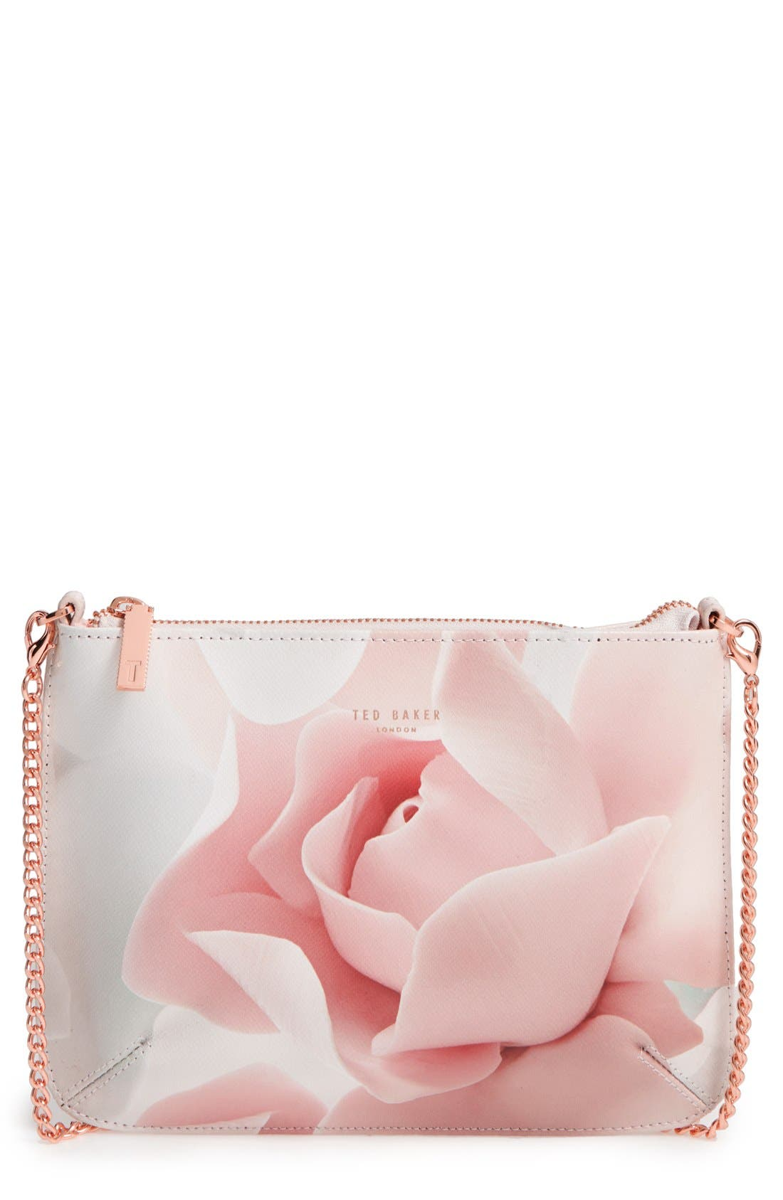 Main Image - Ted Baker London Verah Leather Crossbody Pouch