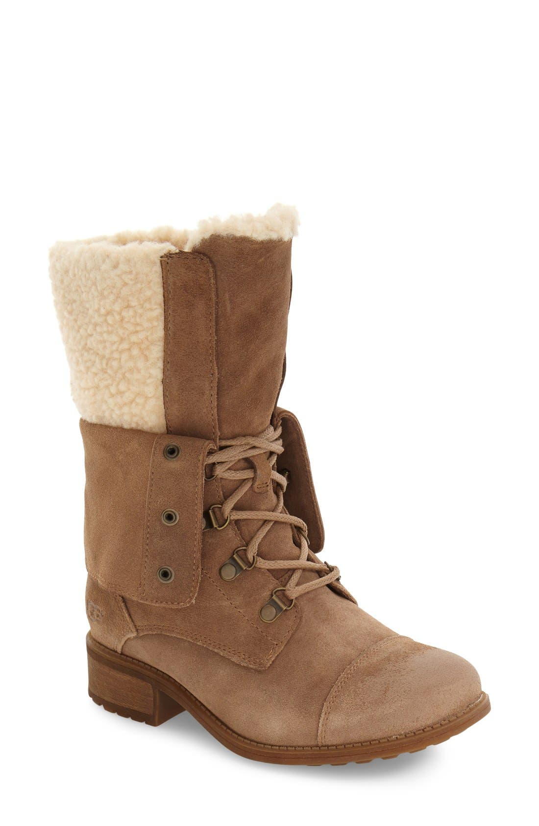 Alternate Image 1 Selected - UGG® Gradin Water Resistant Boot (Women)