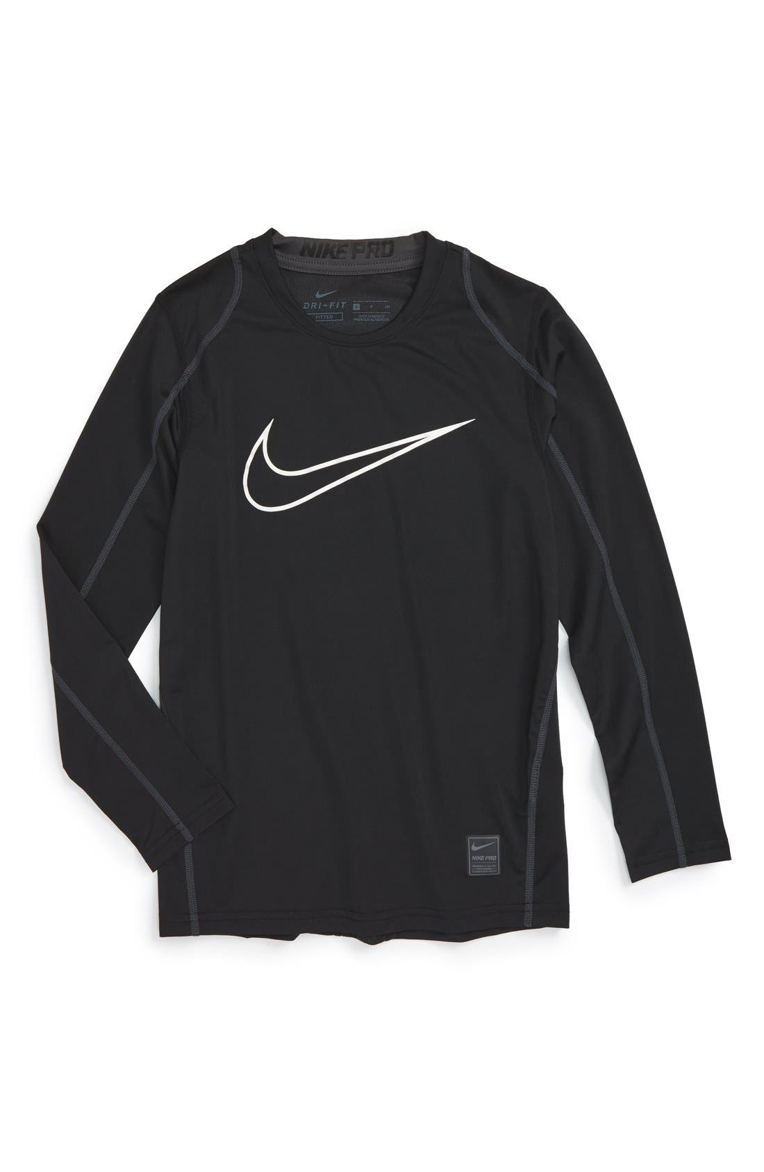 Alternate Image 1 Selected - Nike Cool Dri-FIT T-Shirt (Little Boys & Big Boys)