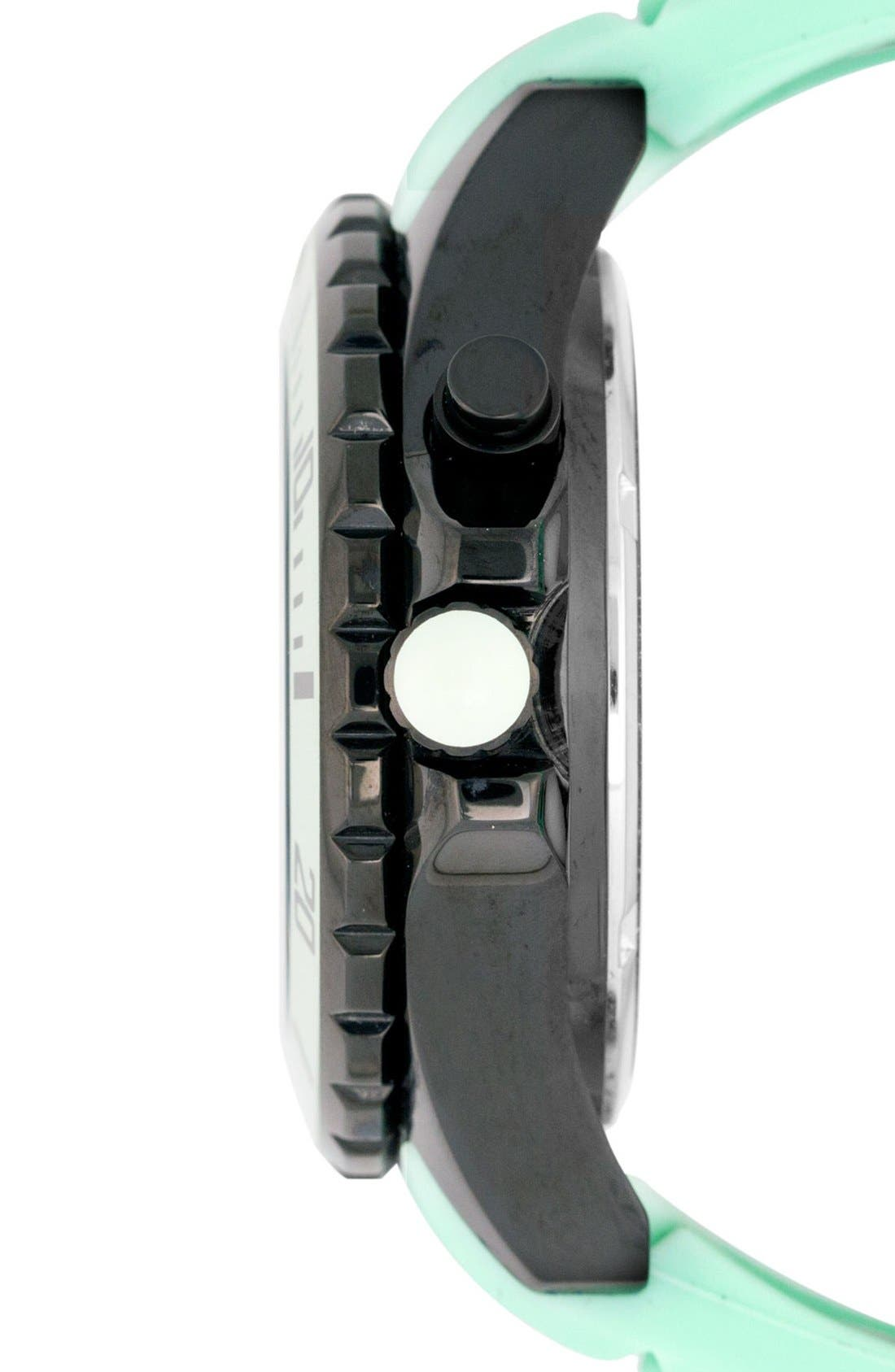 Alternate Image 2  - KYBOE! Power Silicone Strap Watch, 48mm