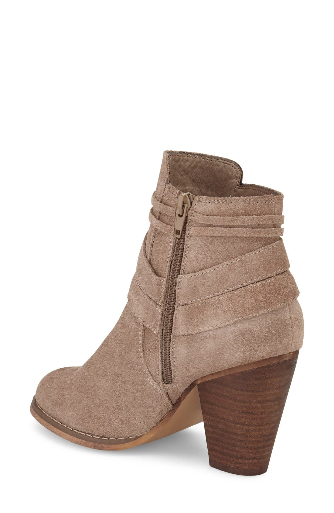 Rumi Bootie,                             Alternate thumbnail 2, color,                             Taupe