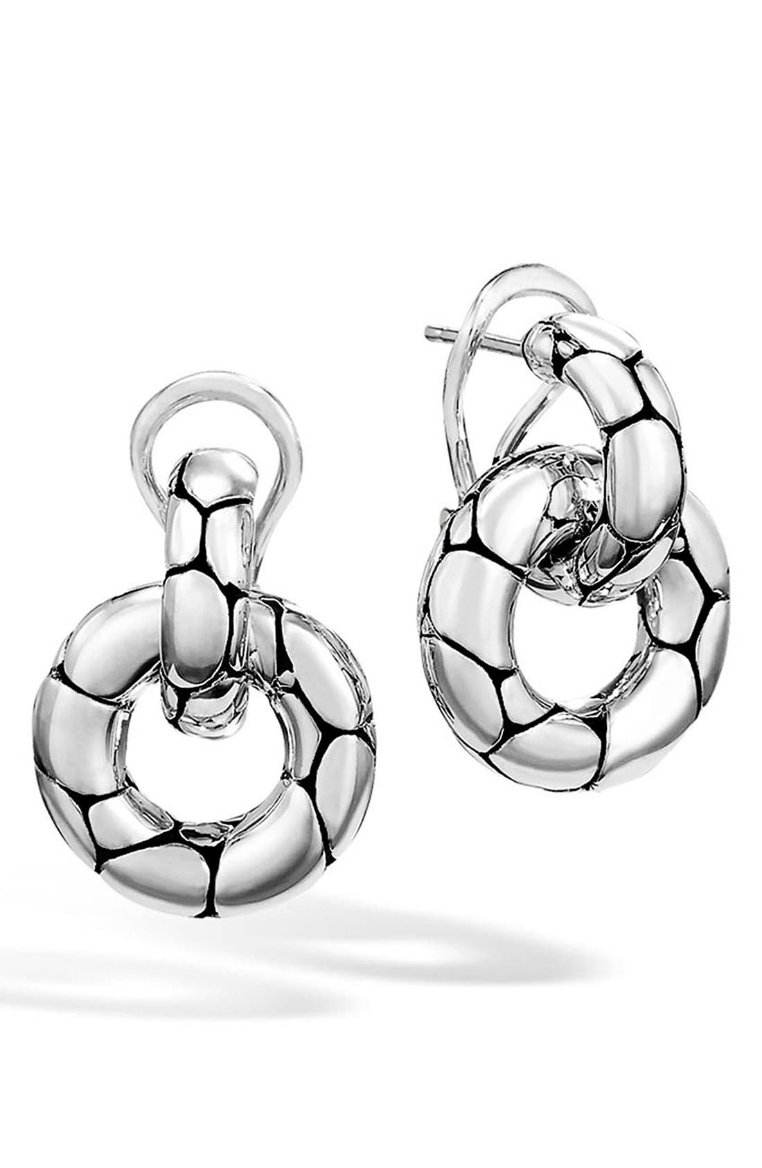 Main Image - John Hardy 'Kali' Small Door Knocker Earrings