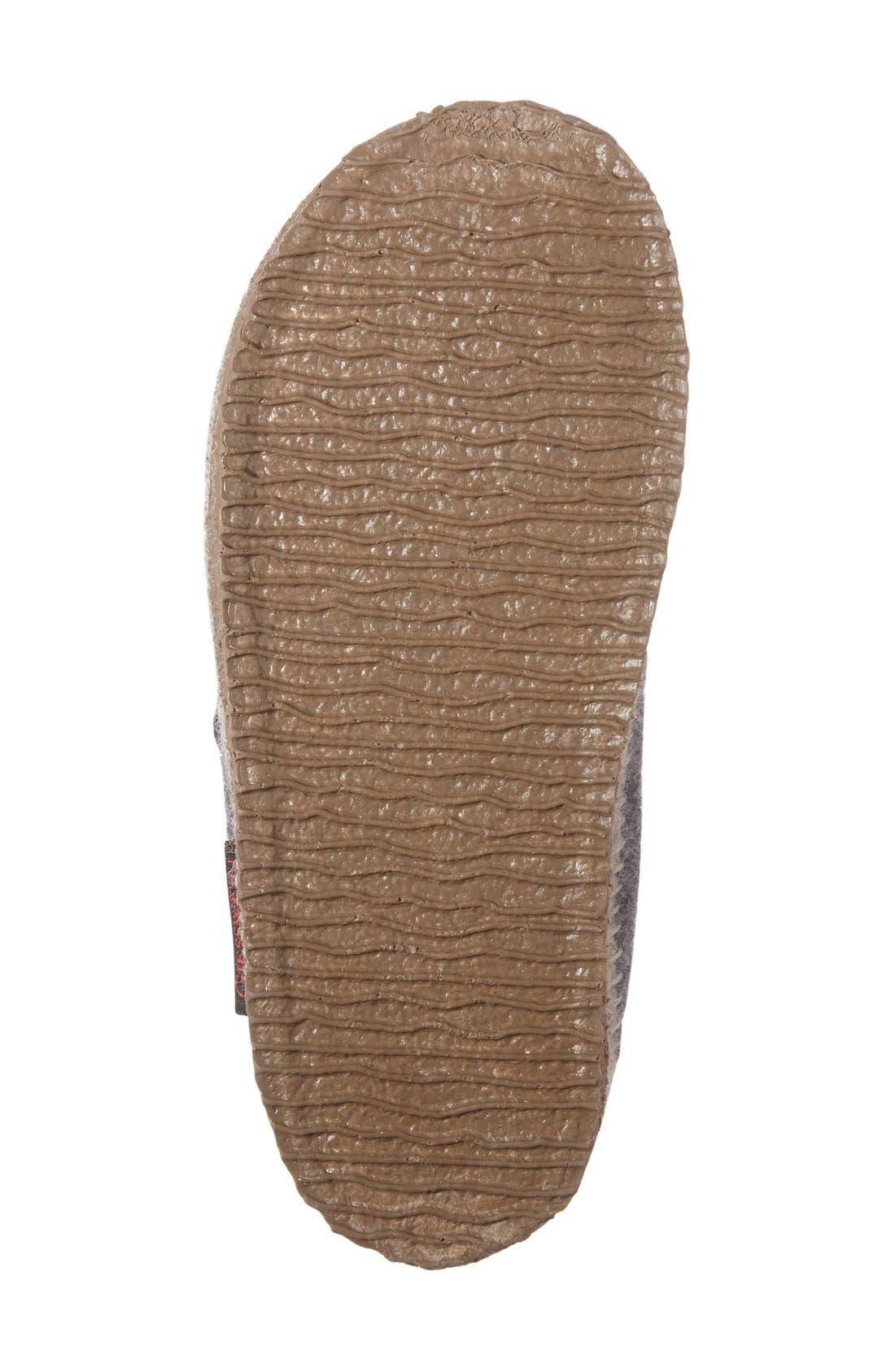 'Lunz' Slipper,                             Alternate thumbnail 4, color,                             Stone Wool