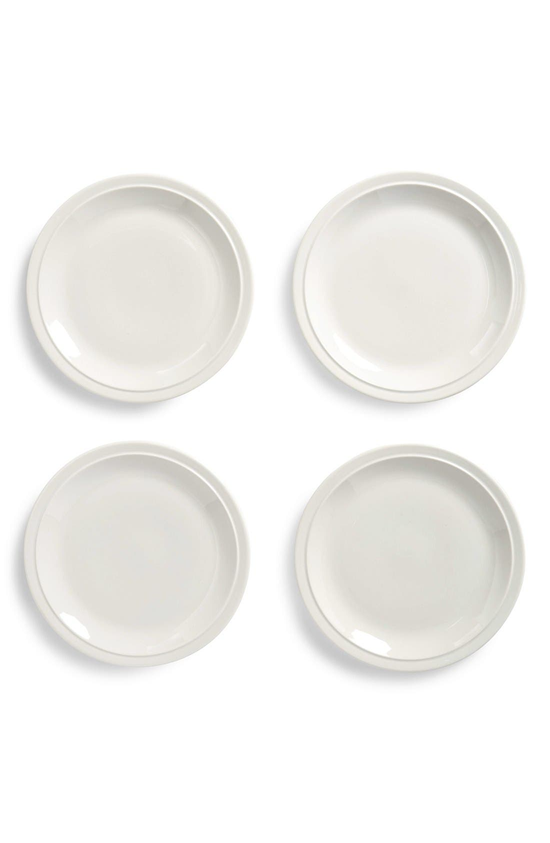 nordstrom at home madrona set of 4 salad plates 32 value - Horderves Plates
