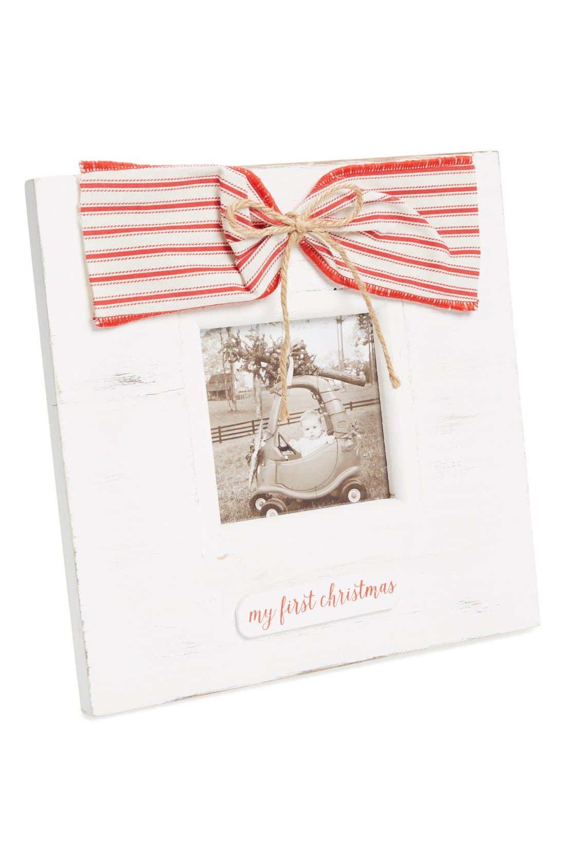 Main Image - Mud Pie My First Christmas Picture Frame
