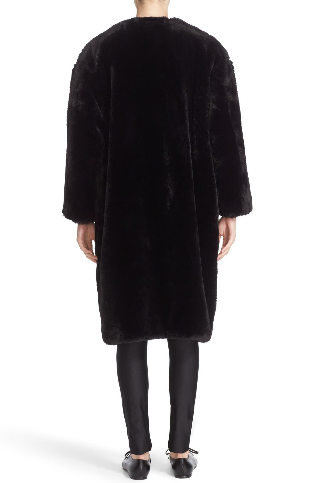 Alternate Image 2  - noir kei ninomiya Studded Faux Fur Coat