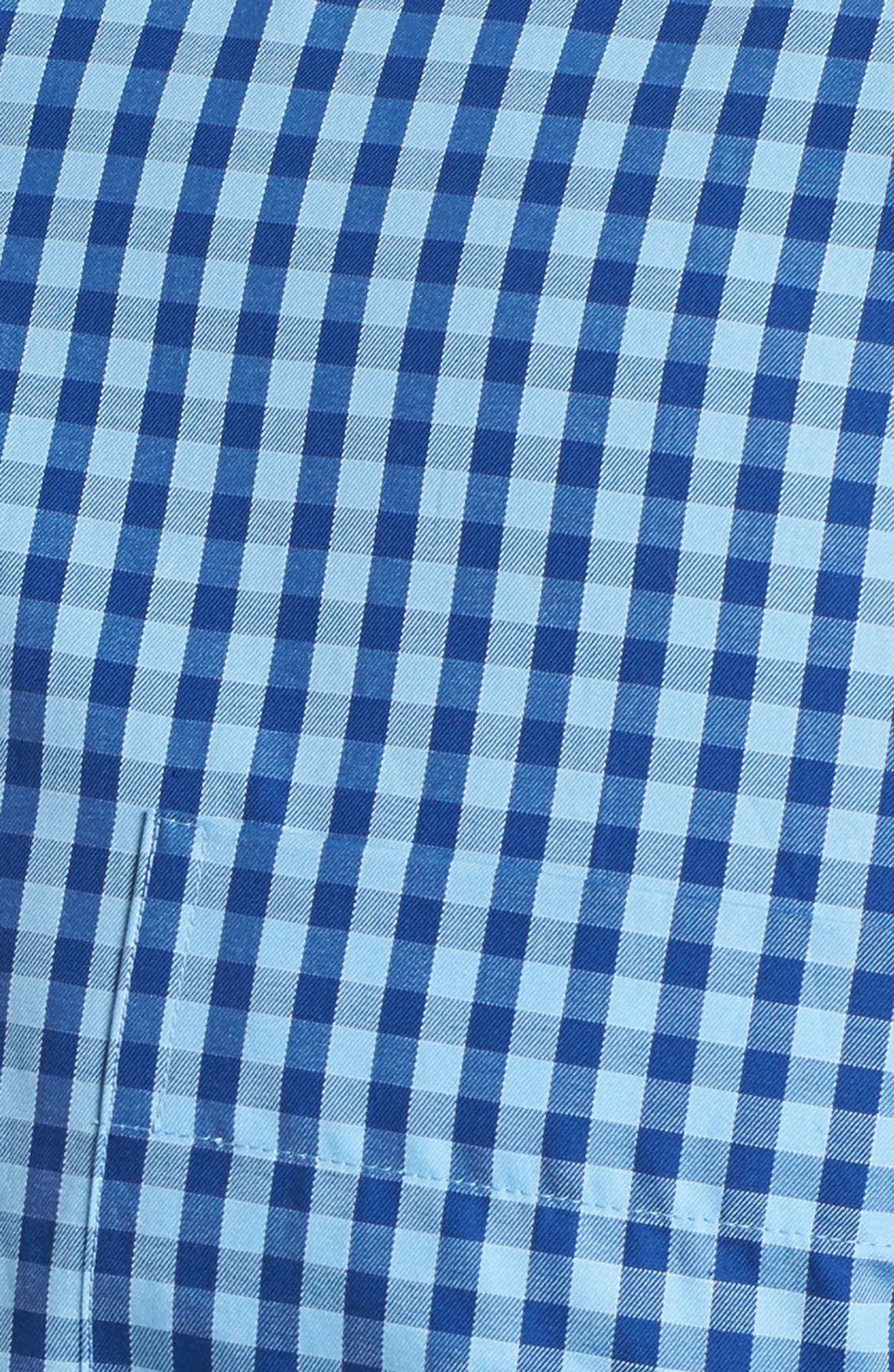 Alternate Image 5  - Peter Millar Regular Fit Check Sport Shirt