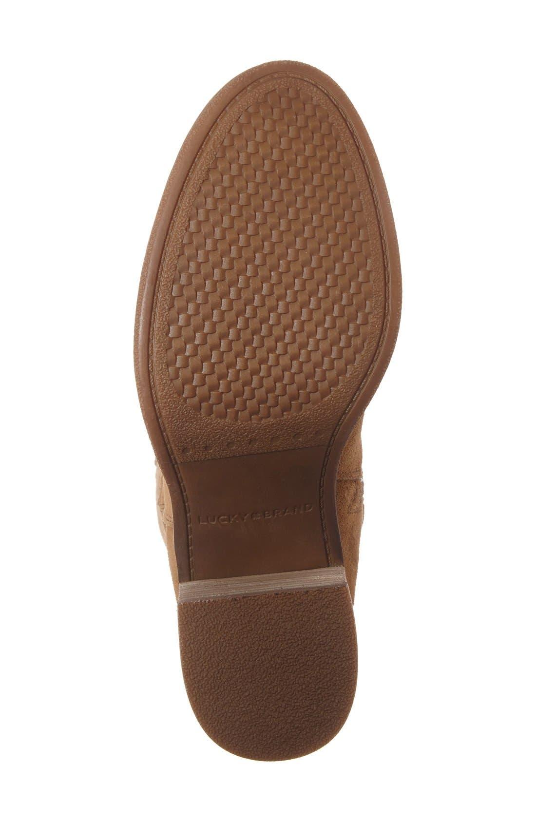 Alternate Image 4  - Lucky Brand Ritten Tall Boot (Women) (Wide Calf)